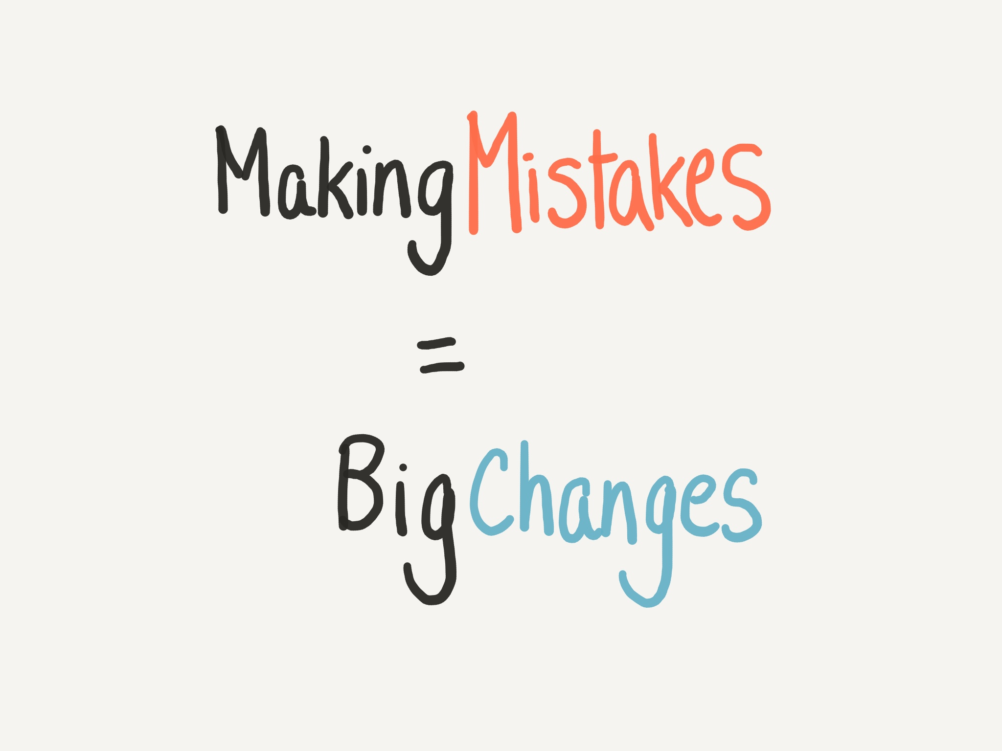 Making mistakes to create big changes guitar practise, guitar tuition east london