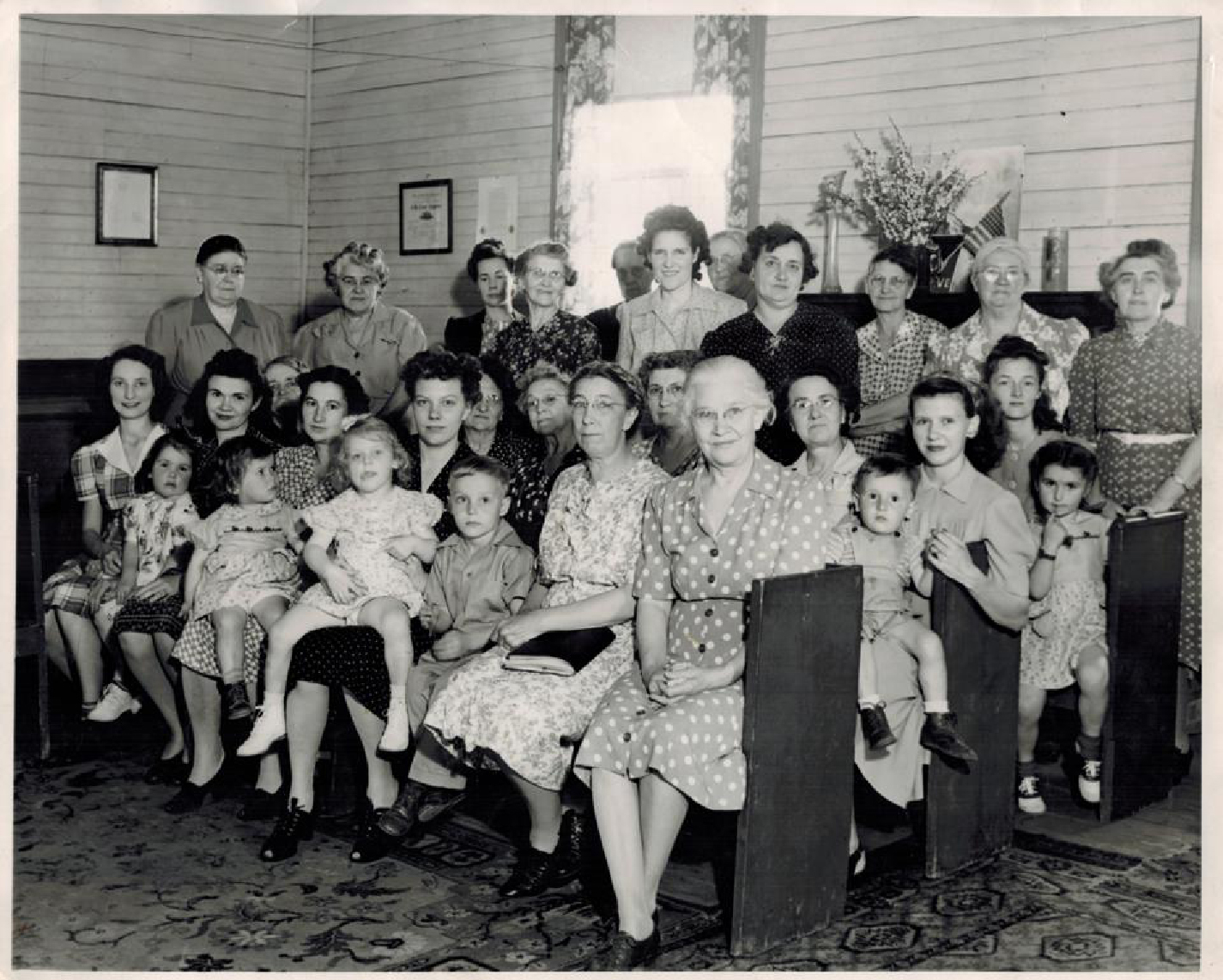 Boling Canning Club, 1940s