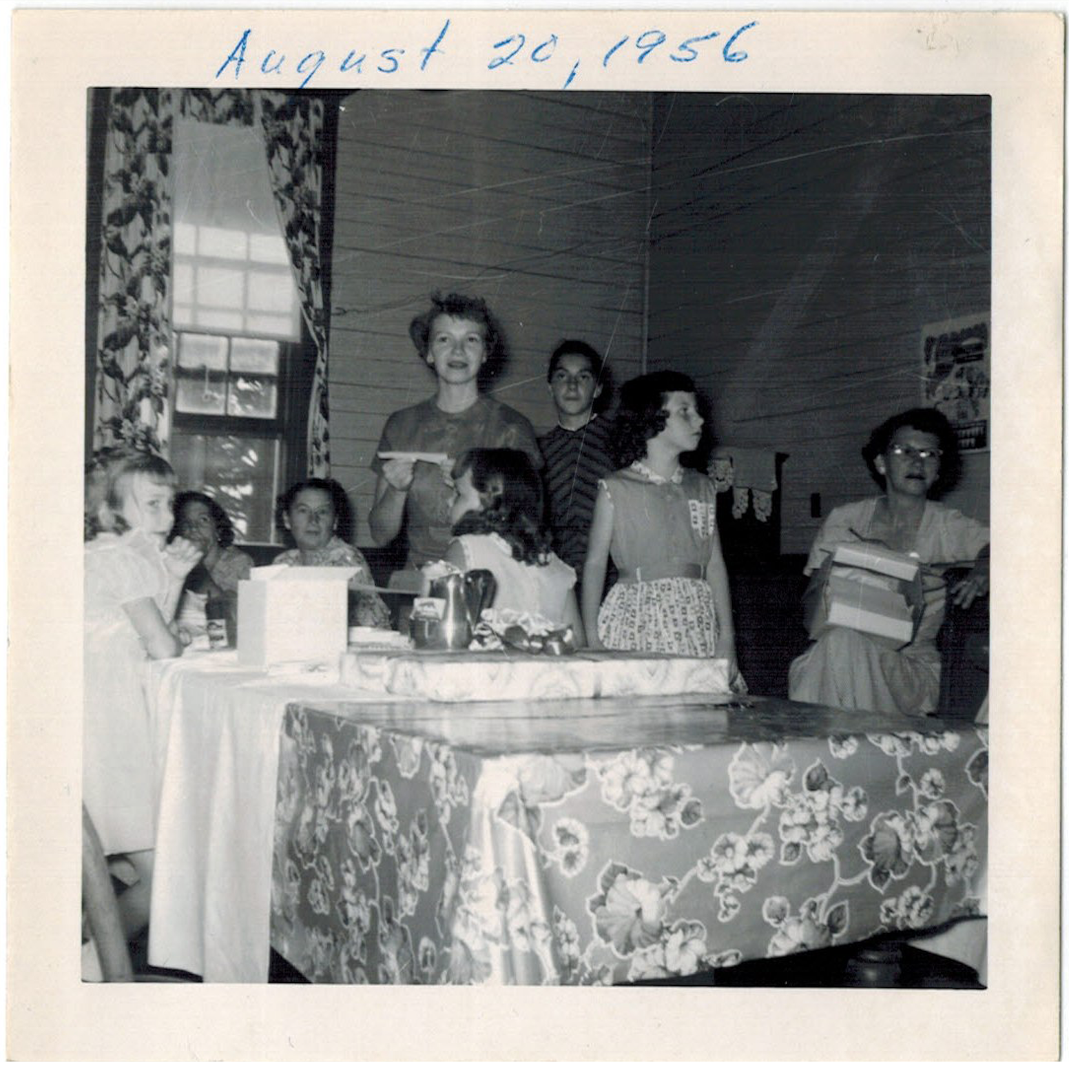 Wedding Shower, 1956