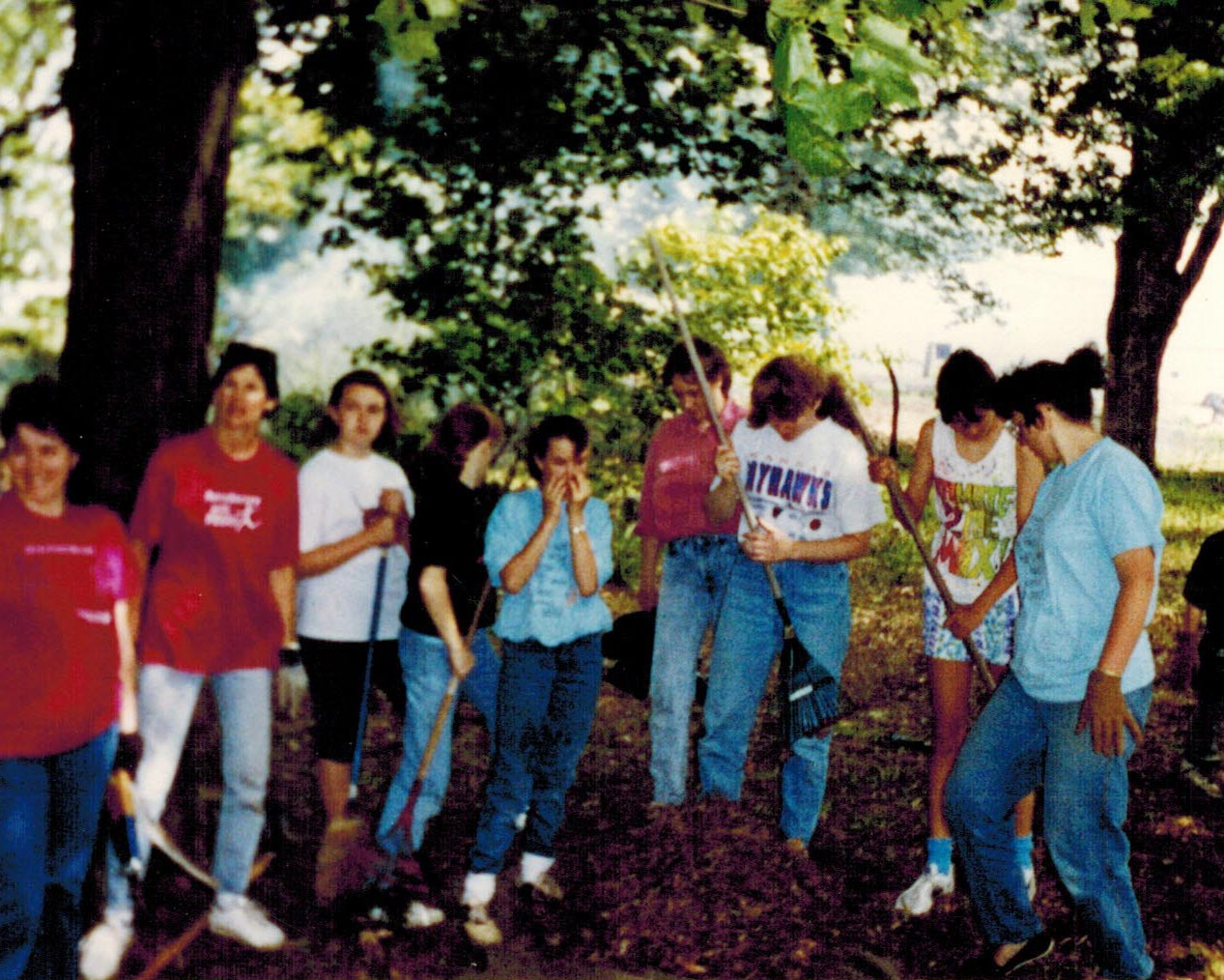 1990s, 4-H Club Cleanup