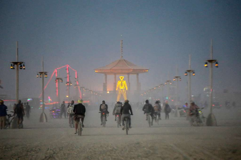 SF Gate - Leftover Burning Man bicycles may get second life with hurricane victims