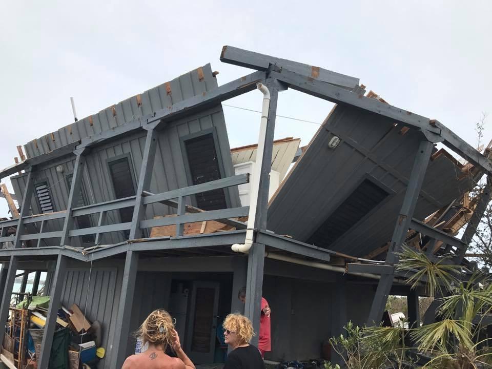 My friend's home post Hurricane Irma.