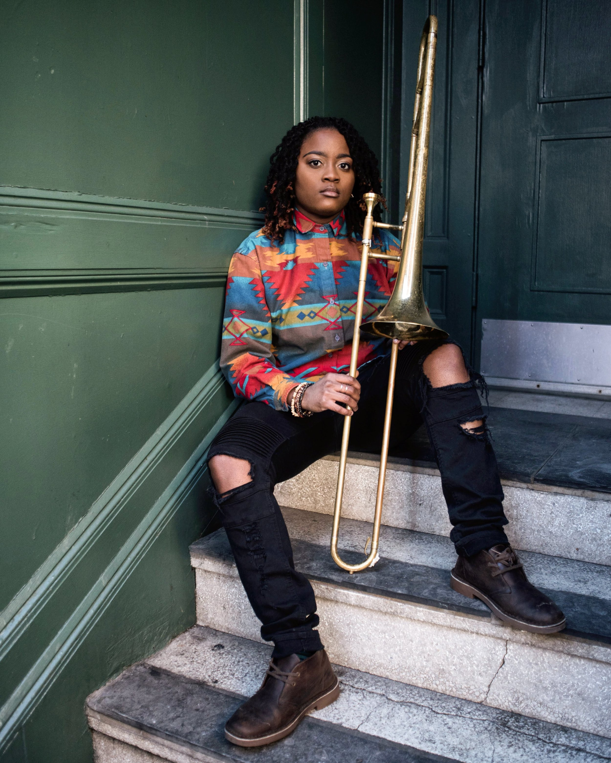 Myrish  - A native of Richmond, VA, Myrish Spell is the first musician in her family. She began playing music at a young age, transitioning to trombone in high school. Myrish received a full-tuition scholarship to Berklee College of Music, graduating in 2014 with a Bachelors of Music in Music Business/Management and a focus in Entrepreneurship. She currently plays in a funk band called Other than Boston. In addition to performing, she is a songwriter and music educator. She released her first EP, Teachings via SoundCloud in 2016. With the completion of Full Sail Entertainment Business Masters program in the next year, Myrish hopes to combine her passion for performance and education into a venture that allows artists and students to collaborate and share their experiences with one another.