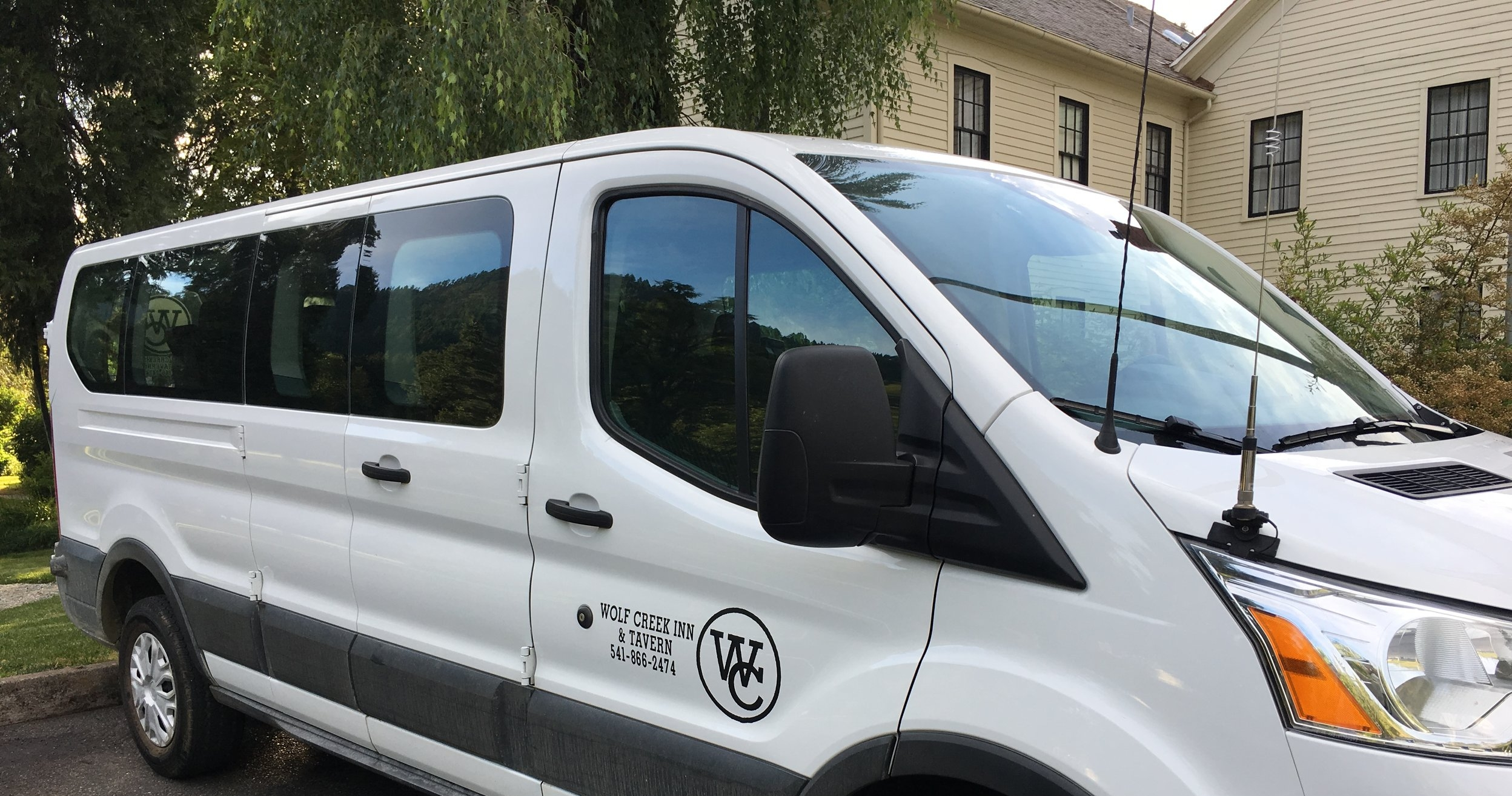 We can even haul you and your guests! - Contact us for more details!