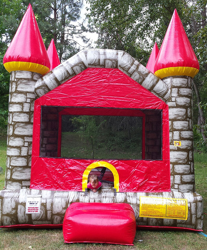 Kids are FREE! - bouncy Castle Included…
