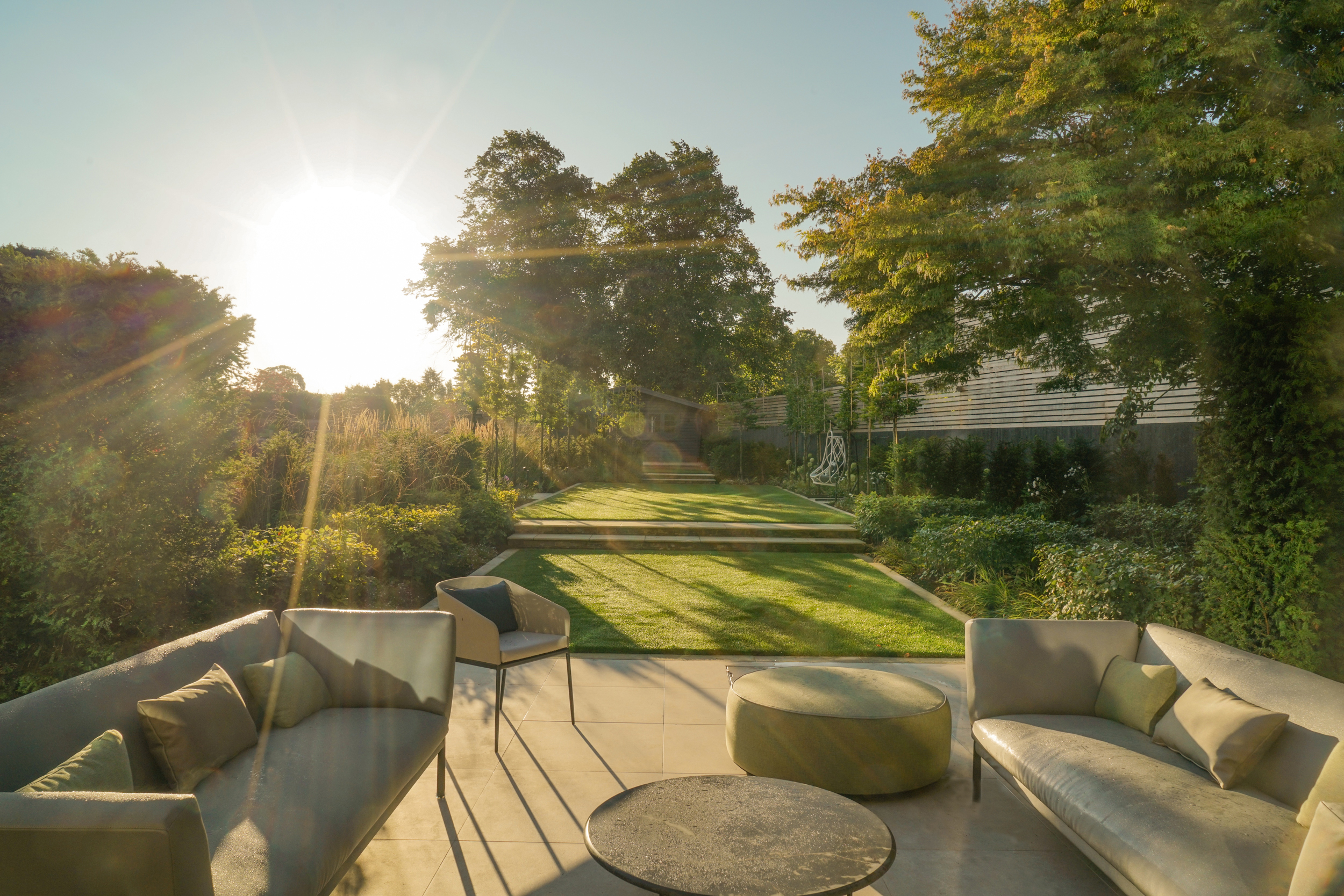 A classic and contemporary garden in Beckenham, London