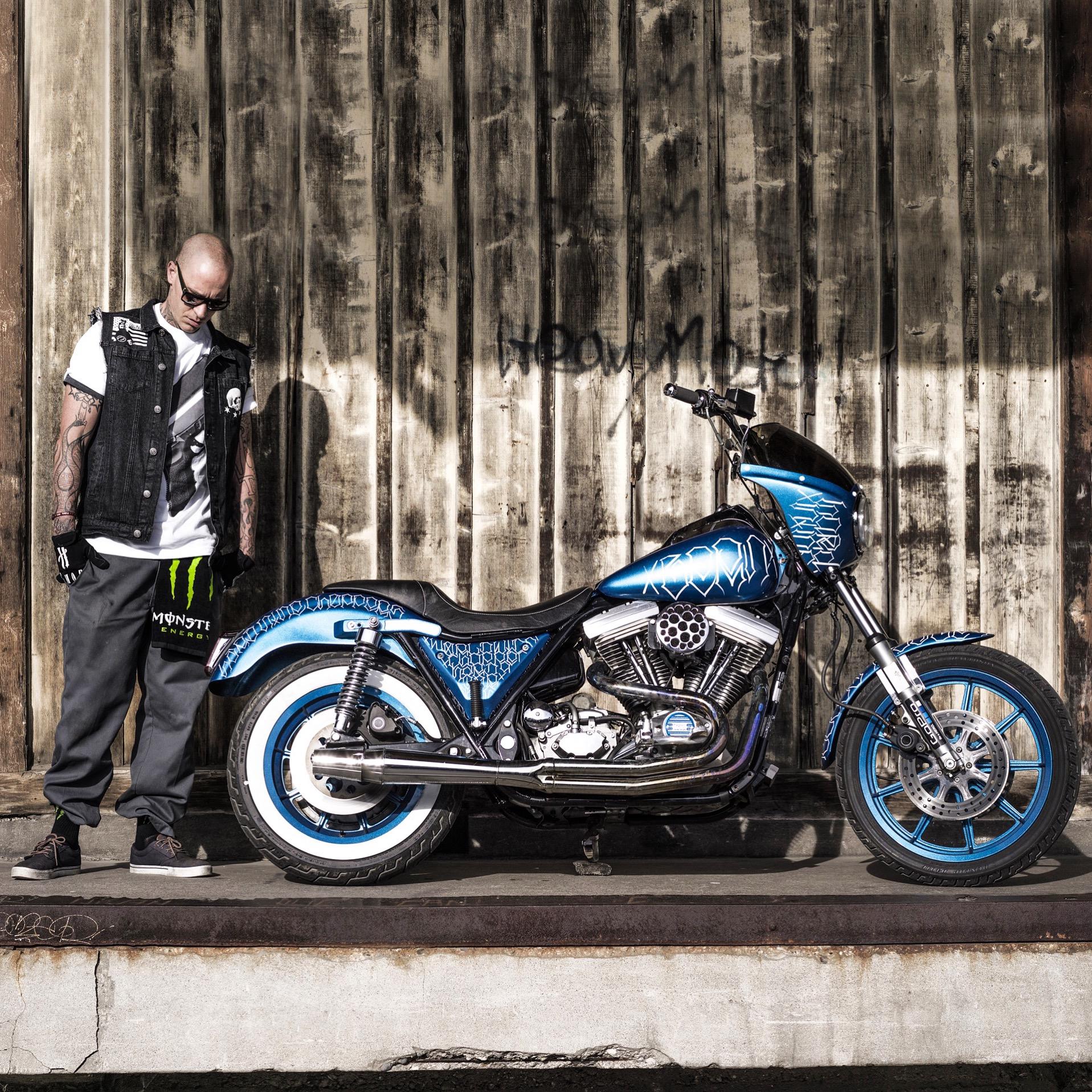 Harley 1989 FXTR