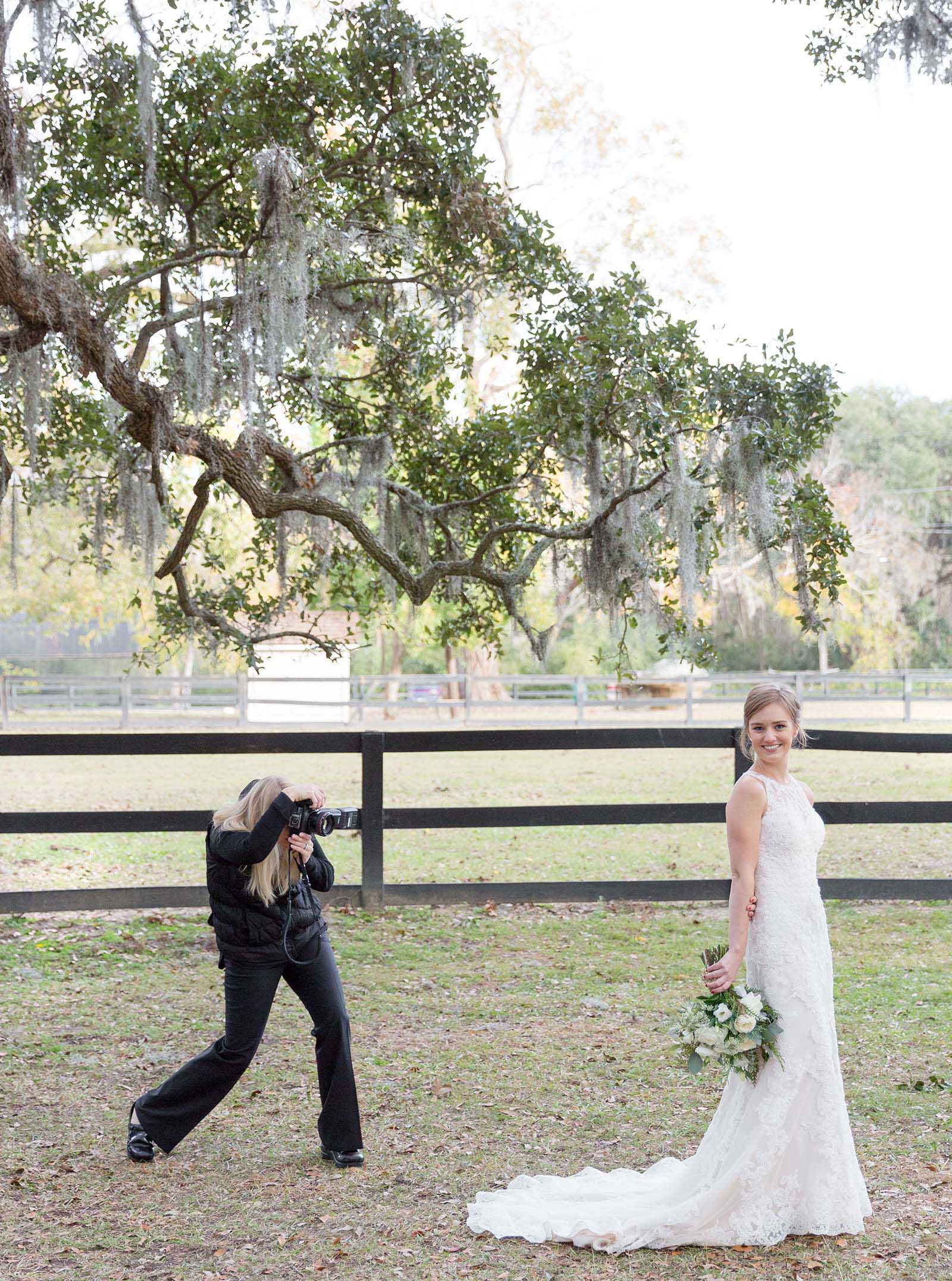 Boone Hall Post Wedding Portrits