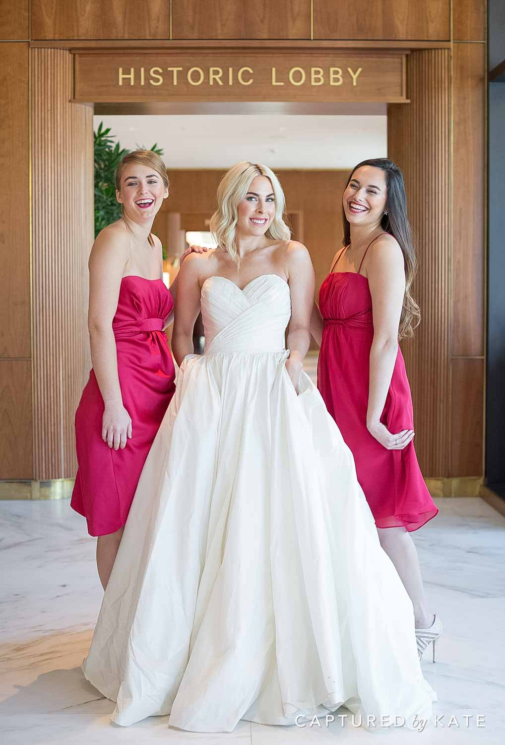 Dewberry Hotel Wedding Photos