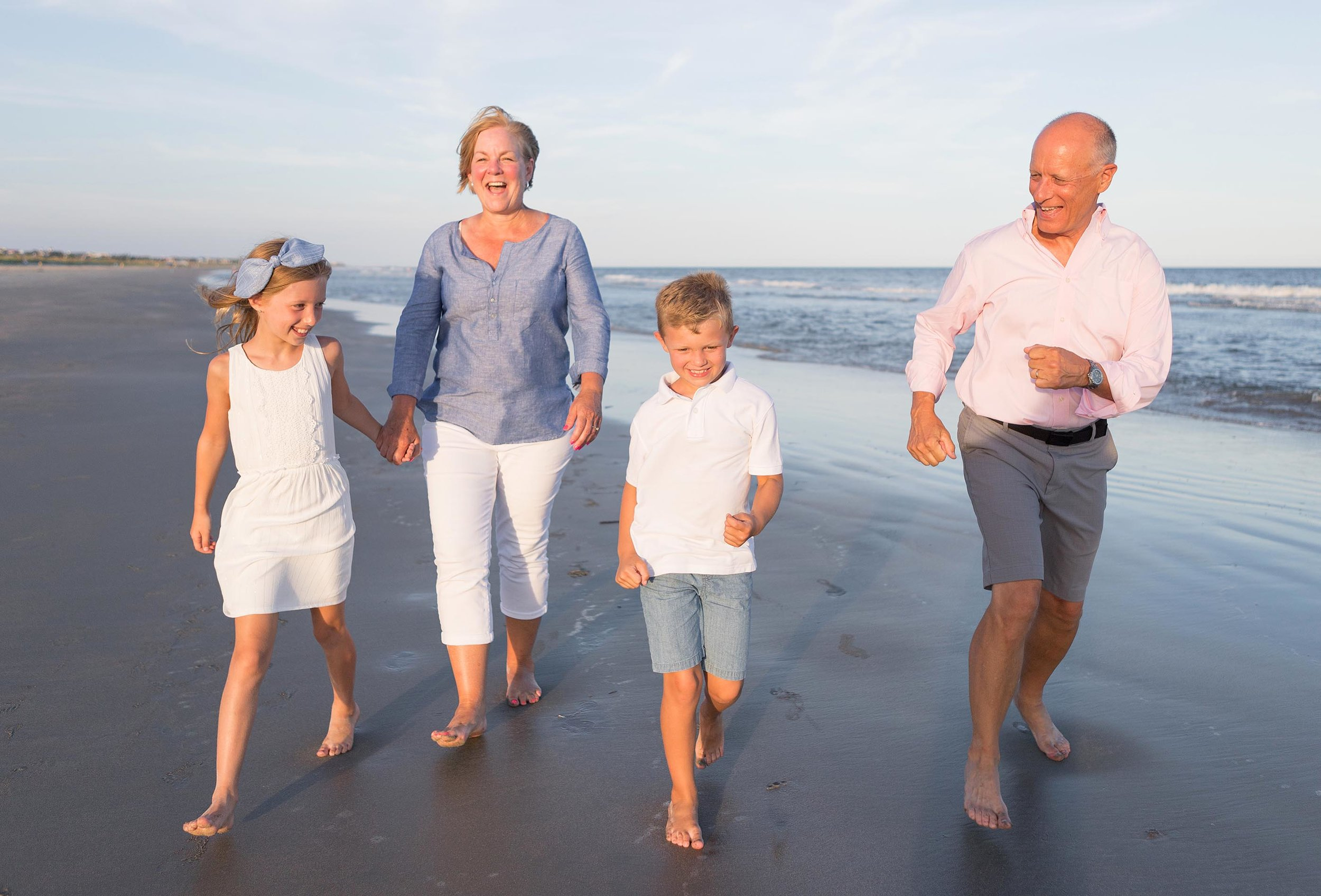 Family portrait session on the Isle of Palms
