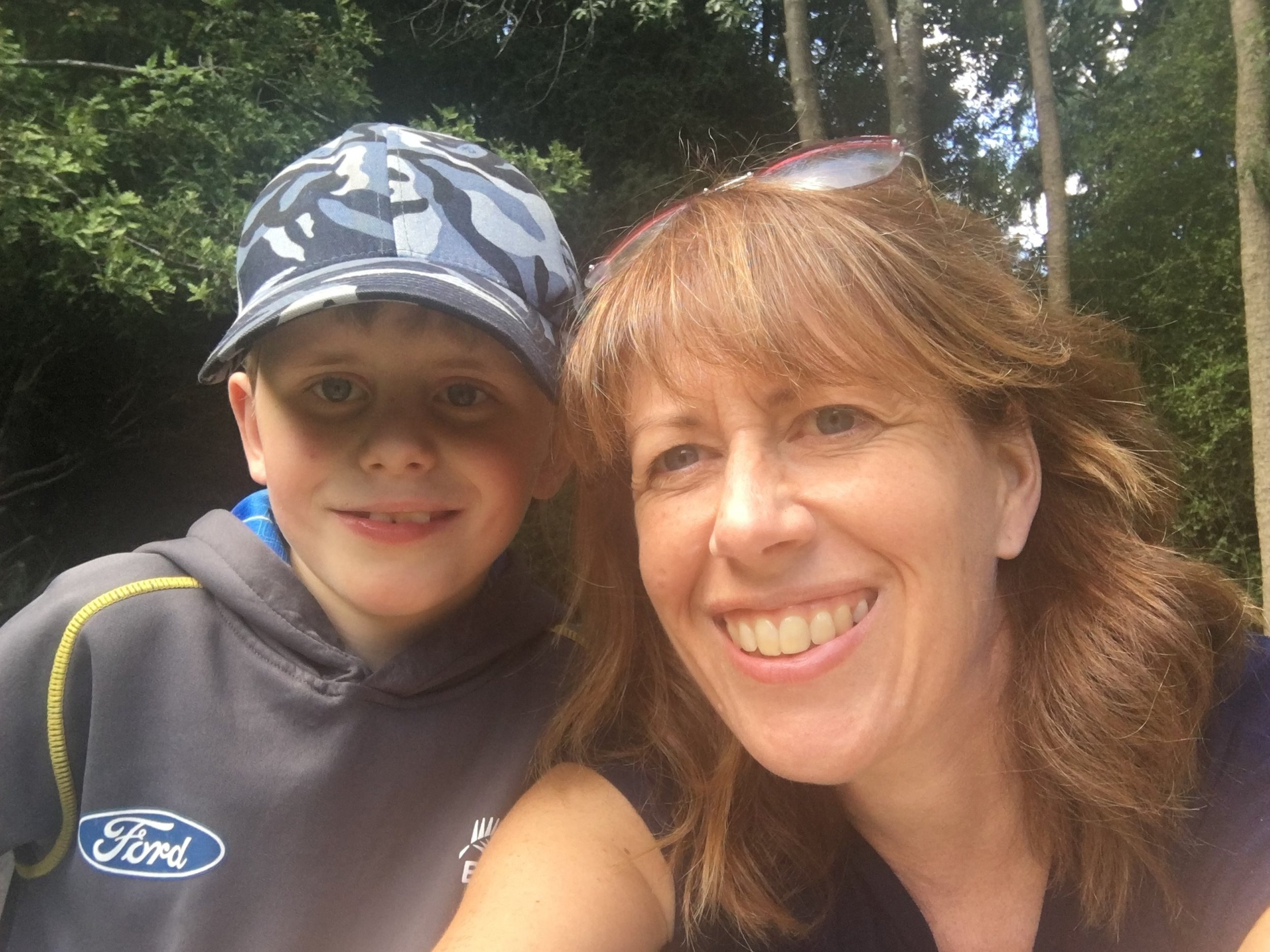 Vicky Aitchison and 10 year-old Finlay