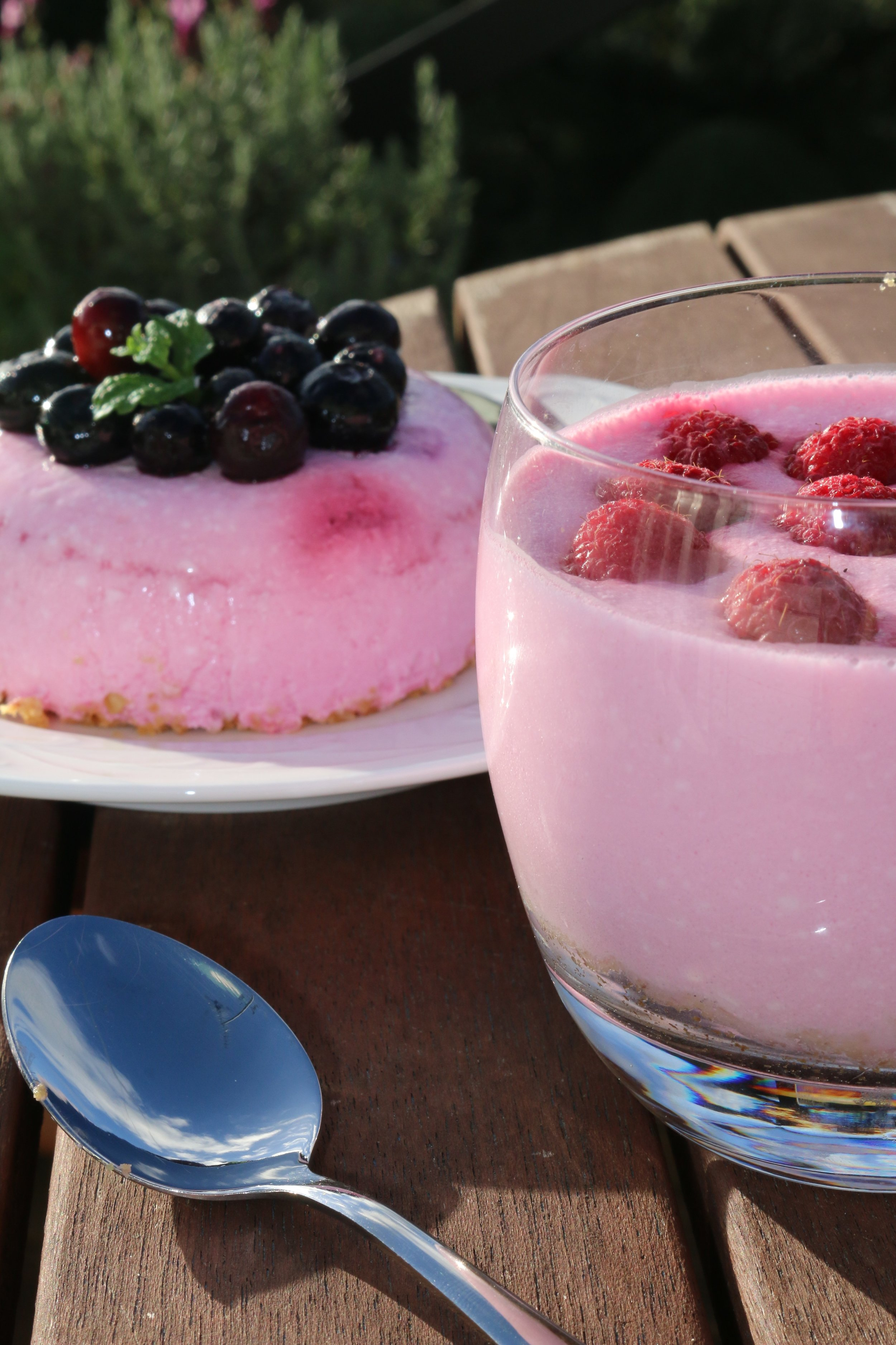 Cottage Cheese & Jelly Cheesecakes (serves 4)  Contribution from Helen Gibbs, Diabetes NZ Dietitian