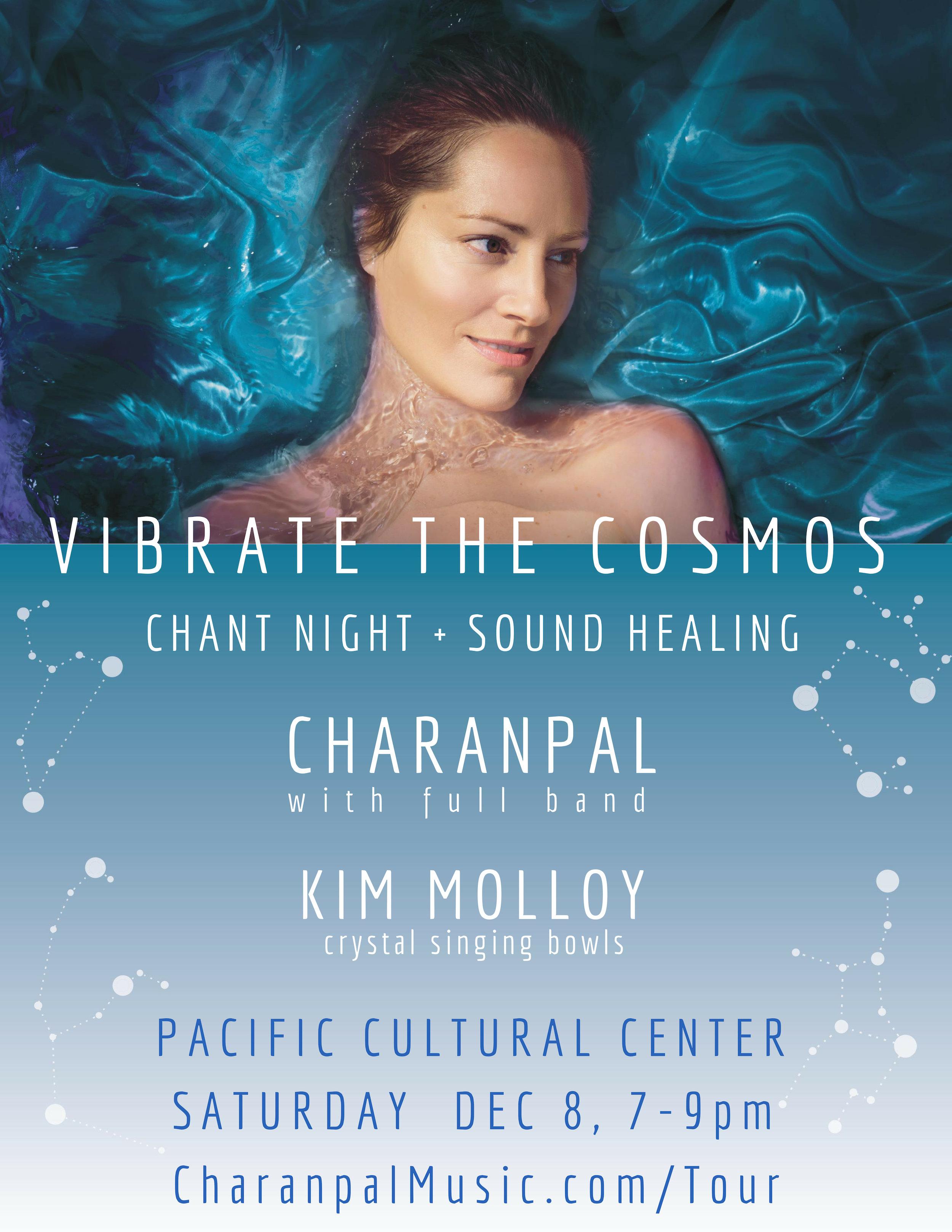 Santa Cruz Chant Concert + Sound Healing -