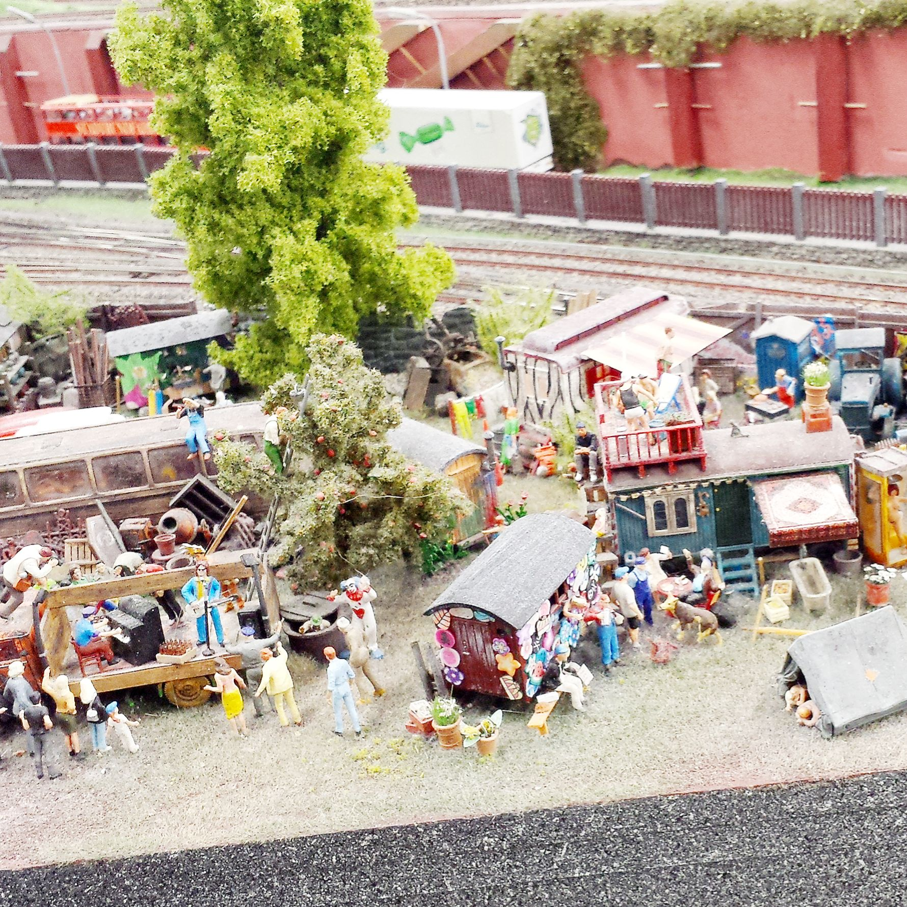 Hamburg Germany Miniature Land Dioramas