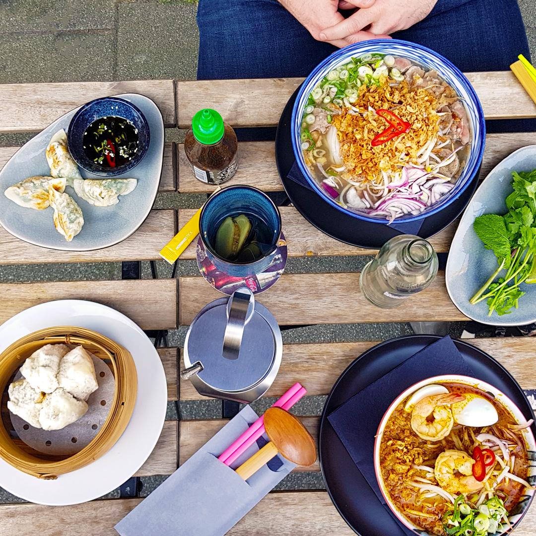 Noo.Me Rotterdam Netherlands Holland Laksa Pho Bao Dumplings Asian Food Malaysian Vietnamese