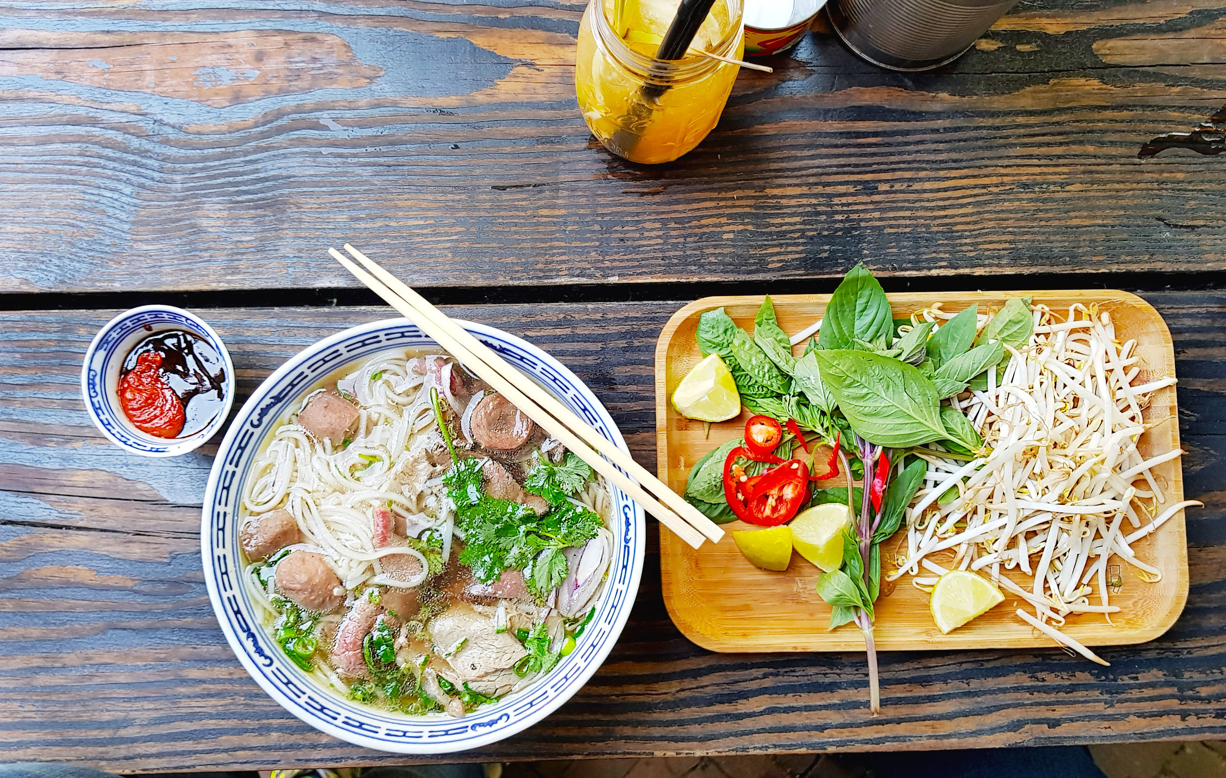 Little V Restaurant Rotterdam Netherlands Vietnamese Pho Noodle Soup