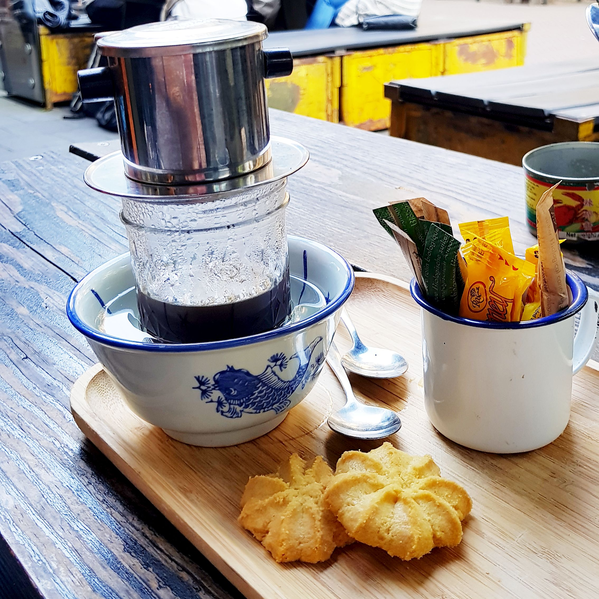 Little V Restaurant Rotterdam Netherlands Vietnamese Coffee
