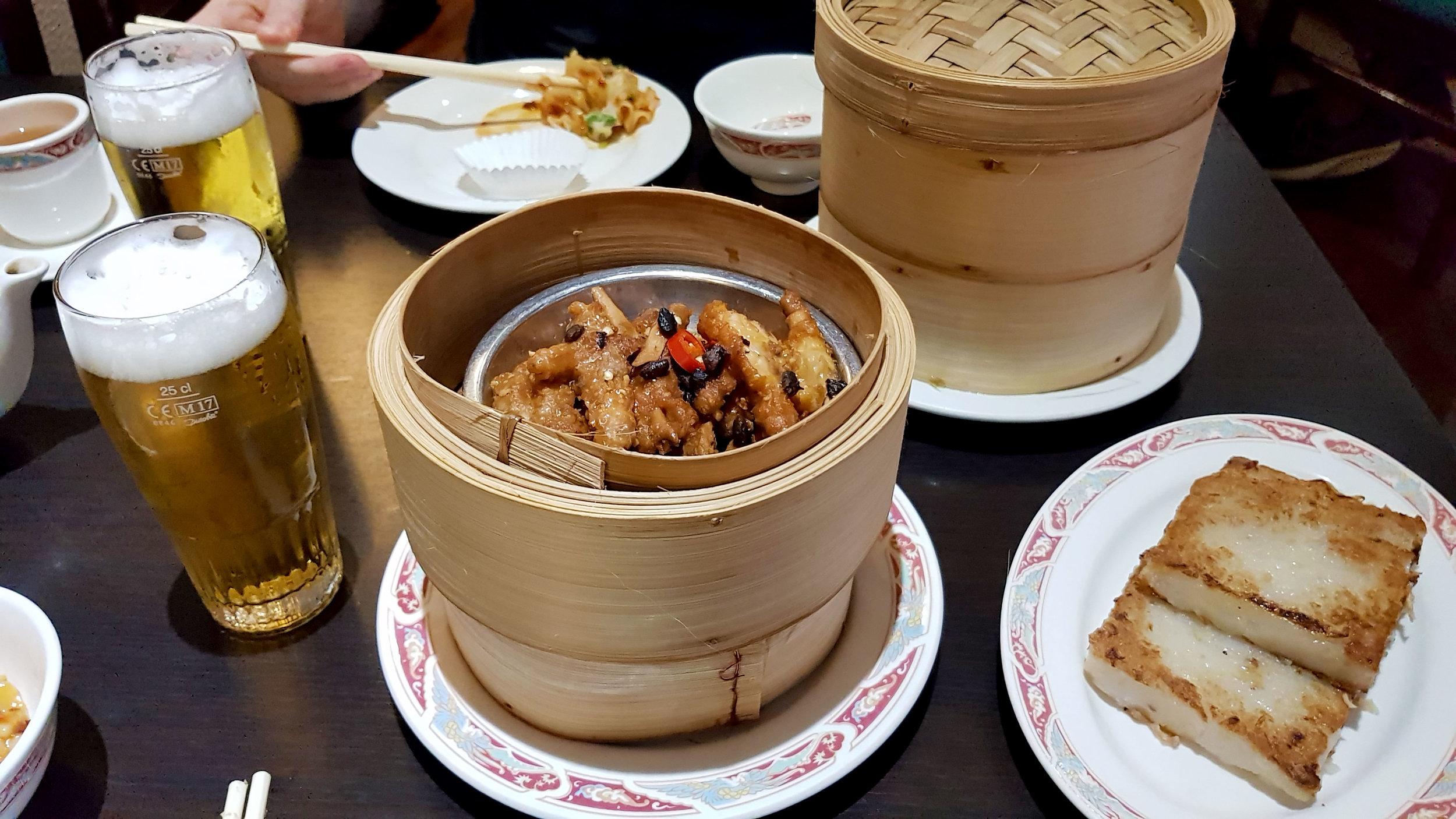 Tai Wu Chinese Dim Sum Restaurant Rotterdam Netherlands chicken feet lo baak gou asian craving travel
