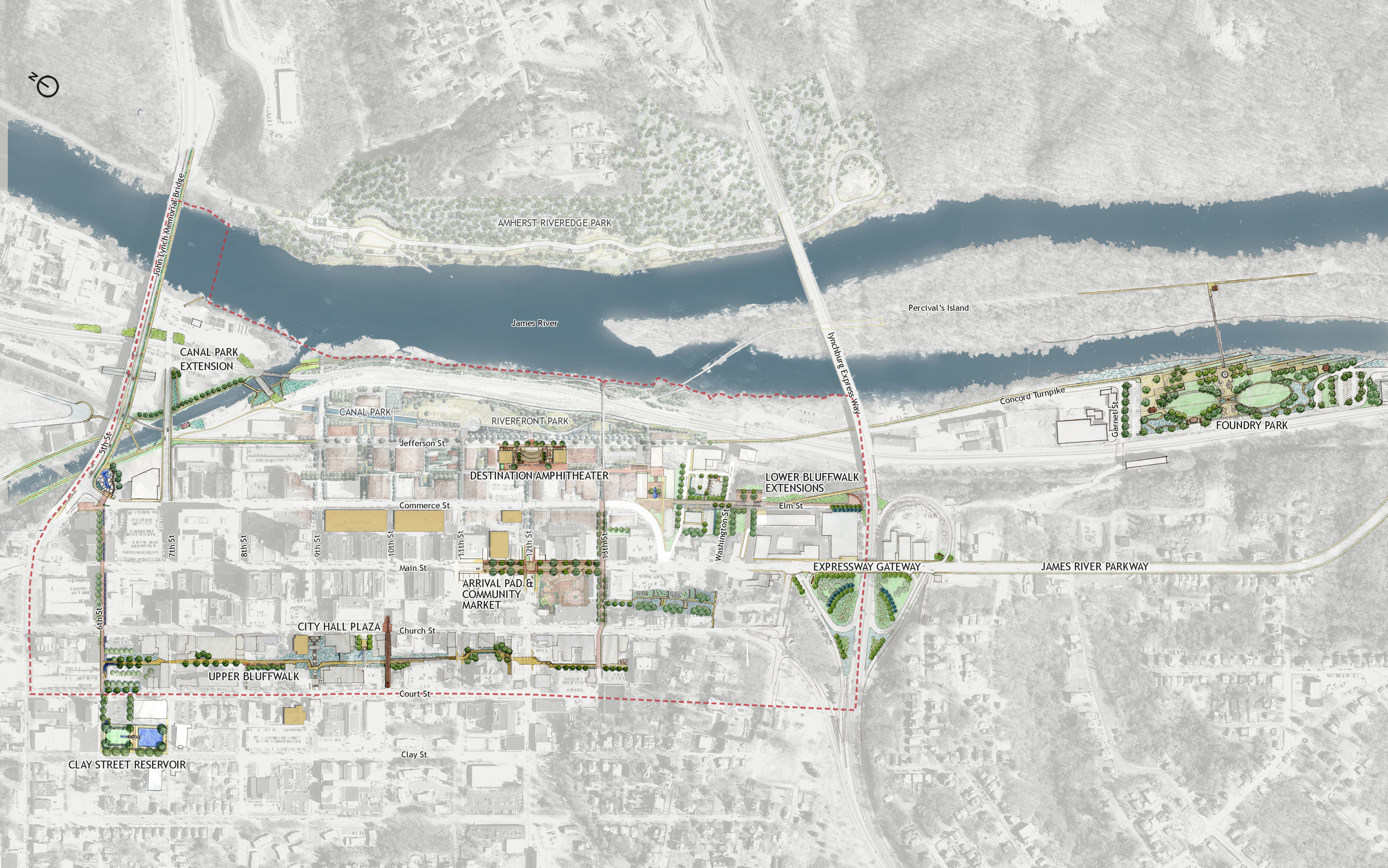 Lynchburg Downtown 2040 Plan - Community Planning by Hill Studio