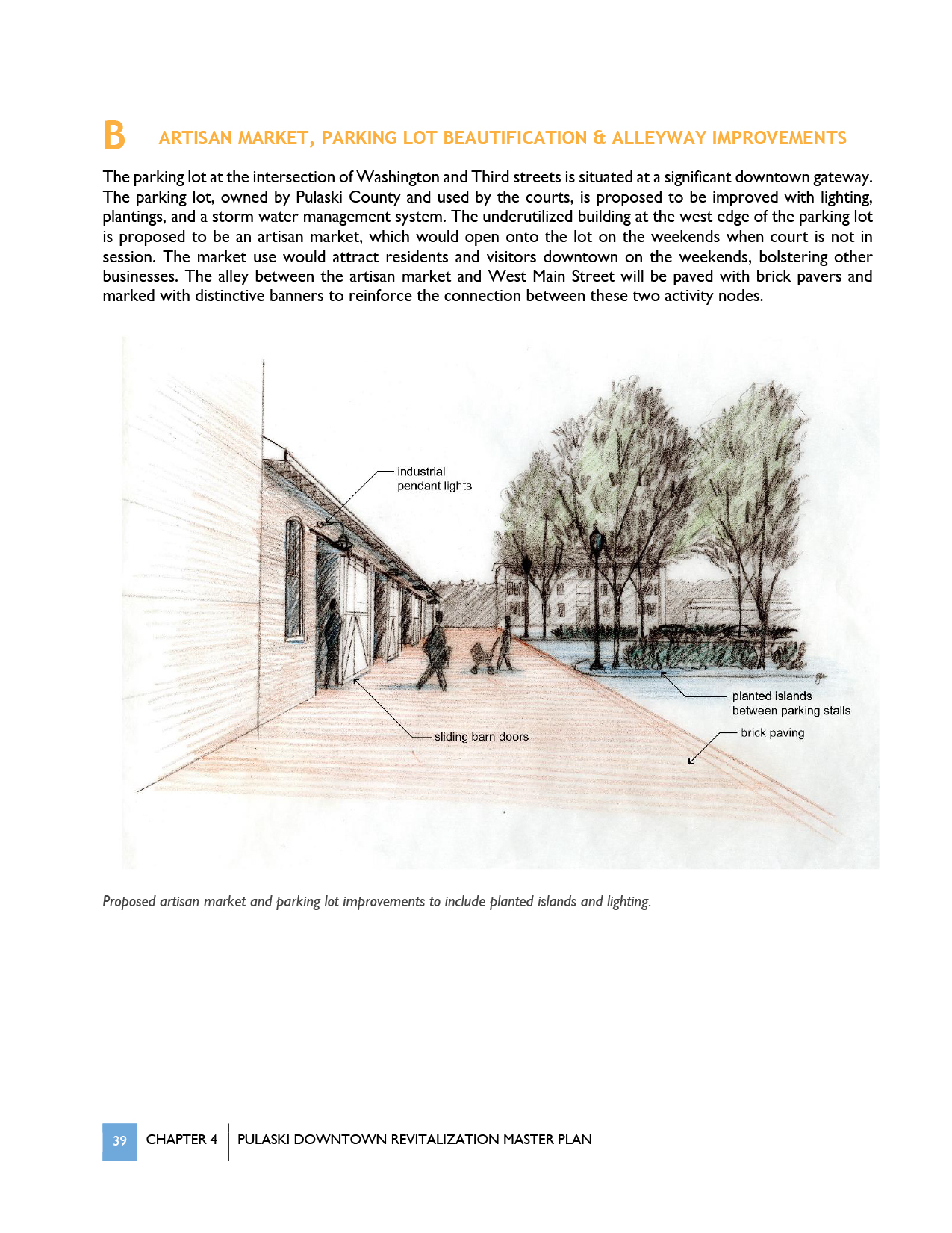 Pulaski Downtown Revitalization Master Plan  by Hill Studio