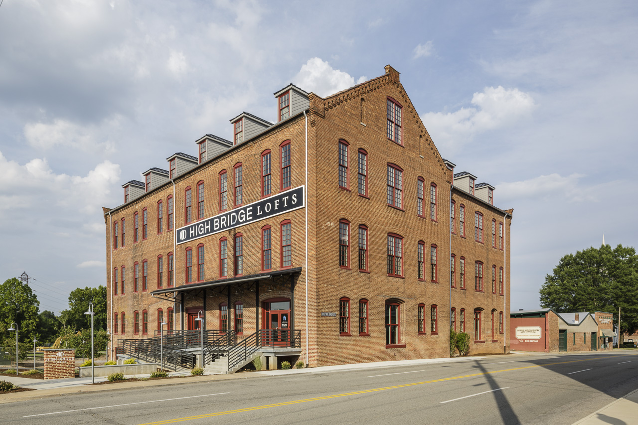 High Bridge Lofts - Historic Tax Credit application by Hill Studio