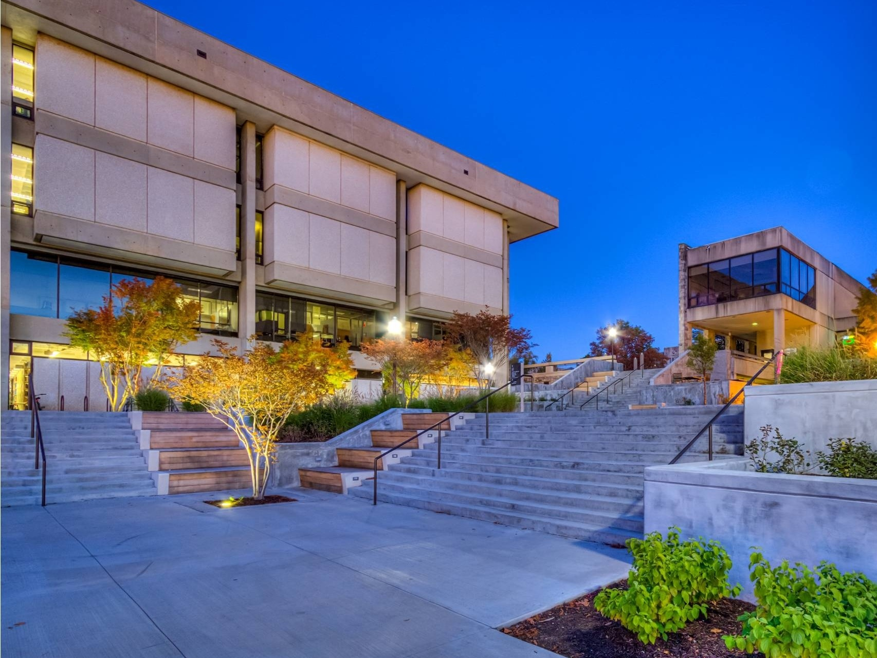 Virginia Tech Derring Stair Replacement by Hill Studio