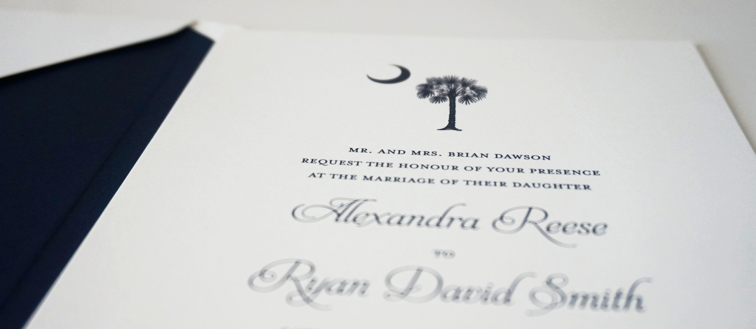 Pee Dee Wedding Invitations | Palmetto State Weddings