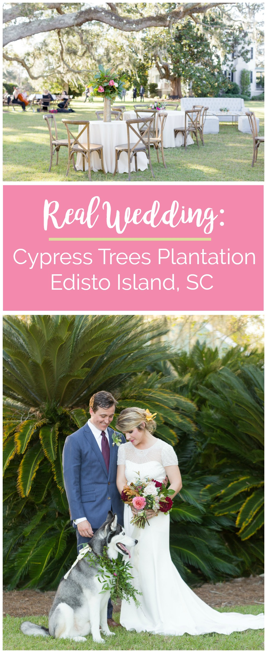 Carrie and Douglas: Dream Edisto Island Wedding at Cypress Trees Plantation | Palmetto State Weddings