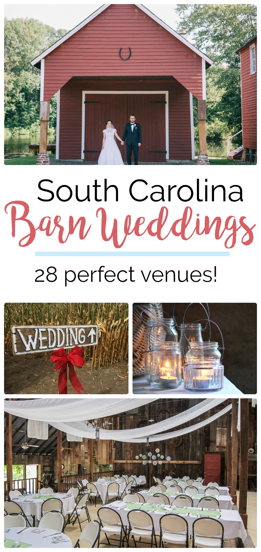 28 Places for Perfect Barn Weddings in South Carolina | Palmetto State Weddings