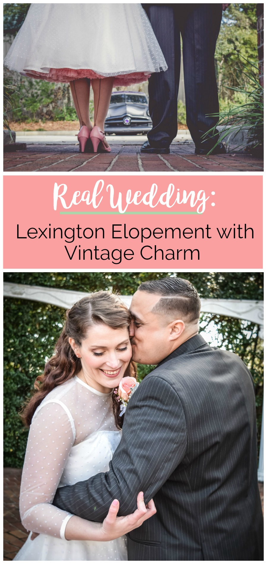 Elizabeth + Joseph: Private Wedding in Lexington with Vintage Charm | Palmetto State Weddings