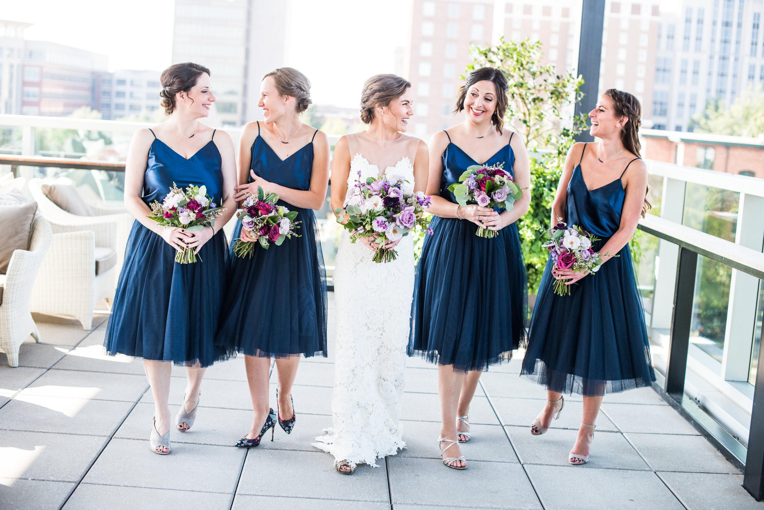 Lauren + Chris: Polished Modern Wedding in Downtown Greenville | Palmetto State Weddings
