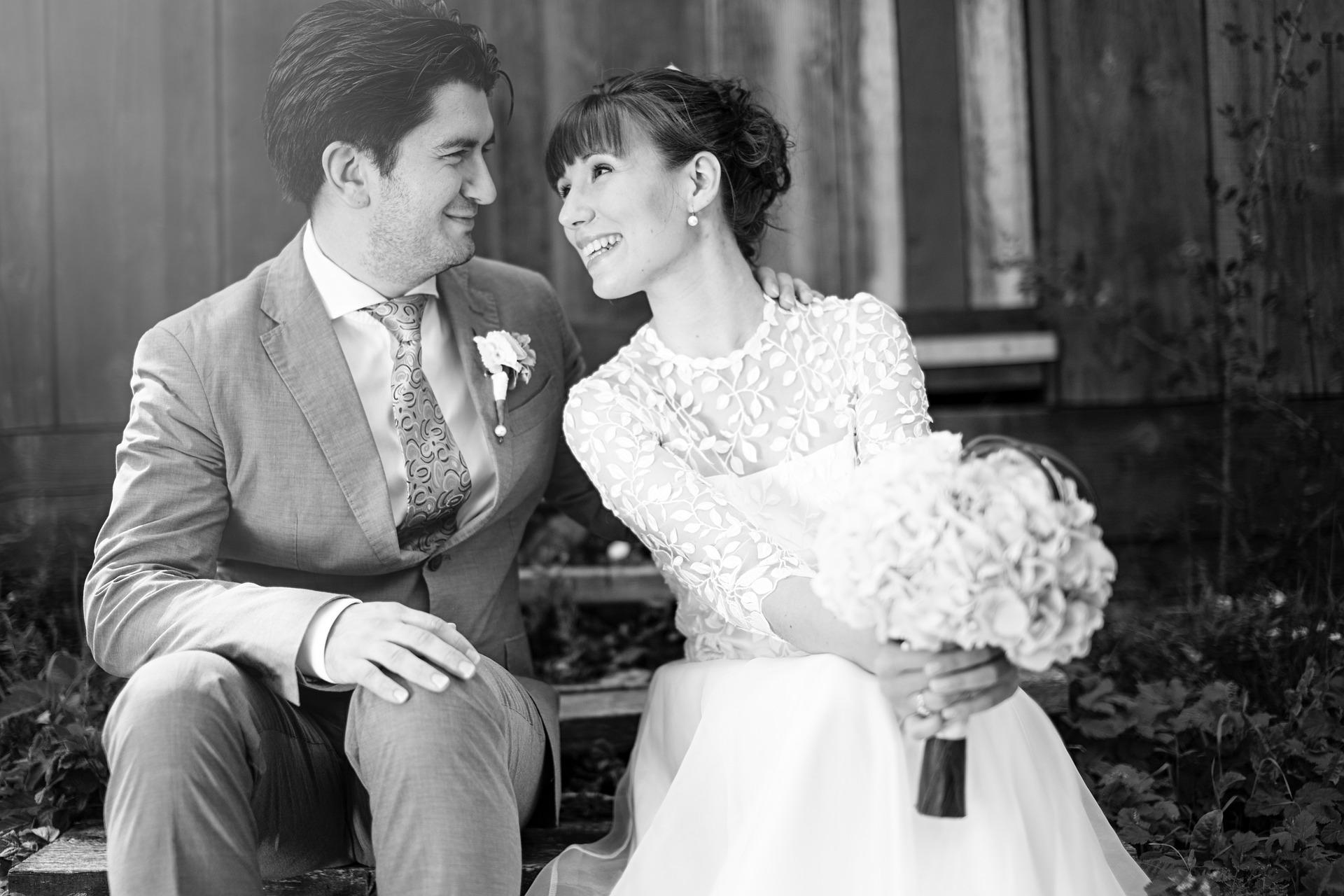 Mood Board; Black and White Wedding | Palmetto State Weddings