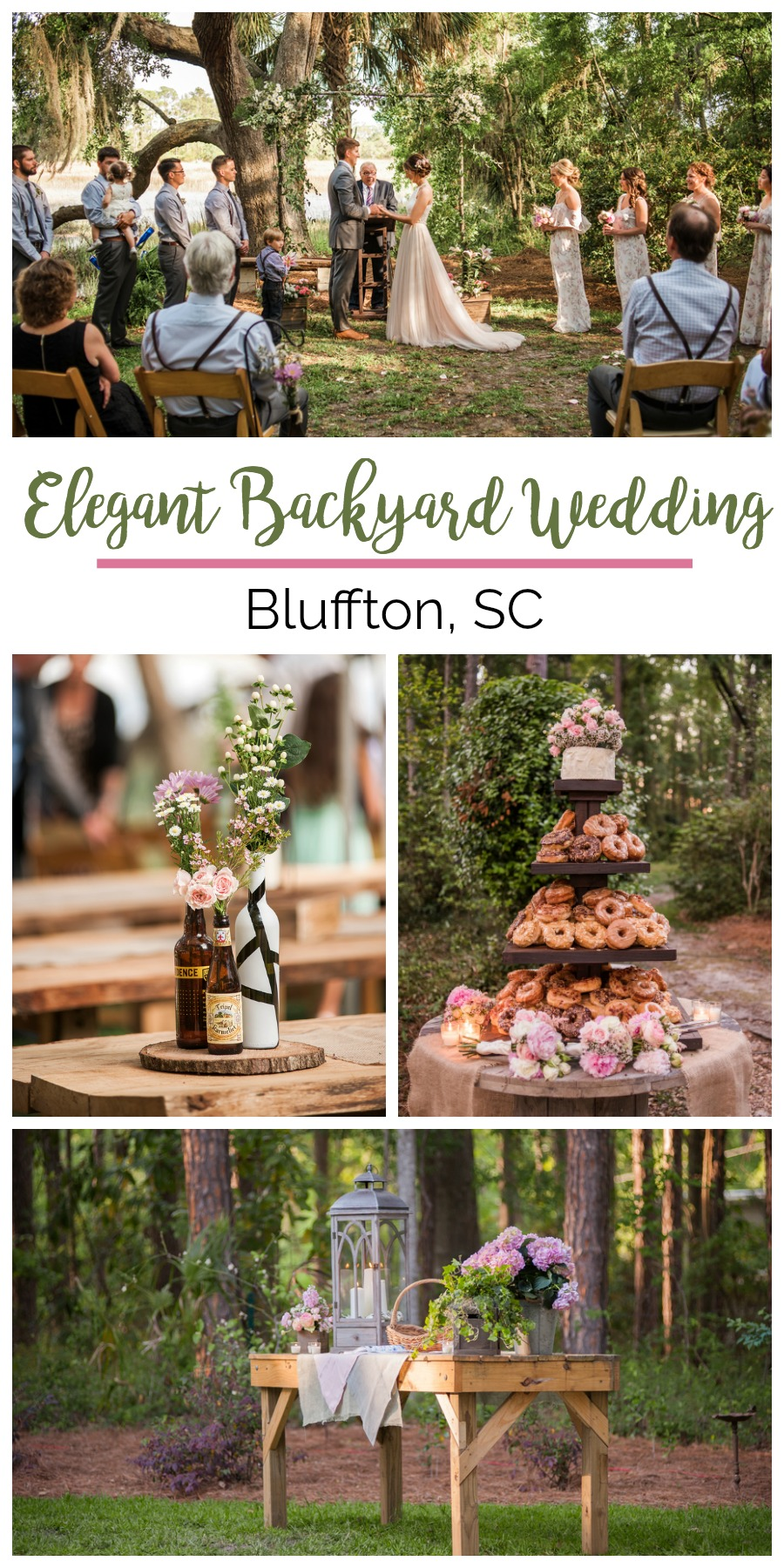 Nikki + Colin: A Lighthearted Backyard Wedding in Bluffton, South Carolina | Palmetto State Weddings