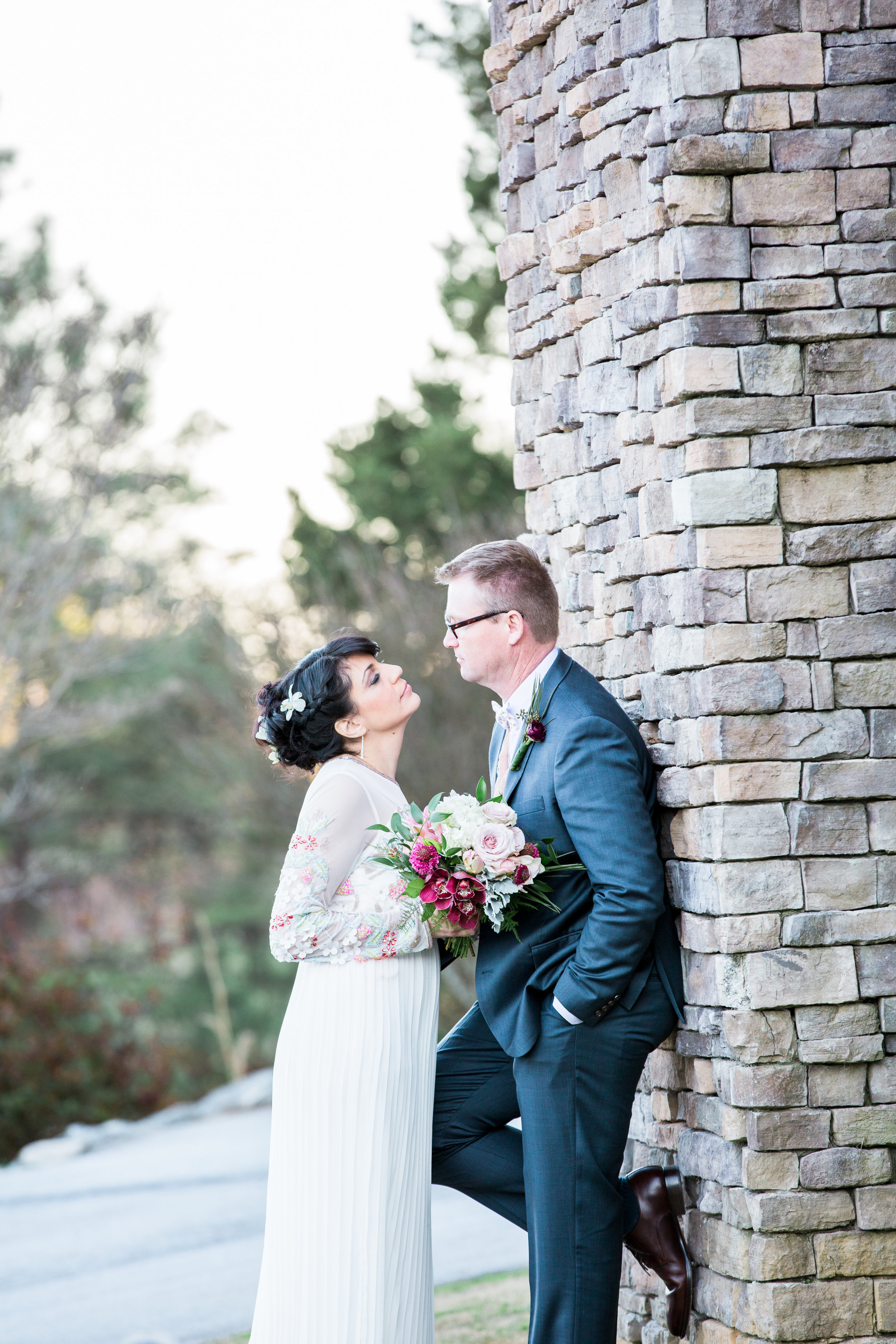 Wedding Inspiration: Mountain Elopement at Three Pines View Lodge | Palmetto State Weddings
