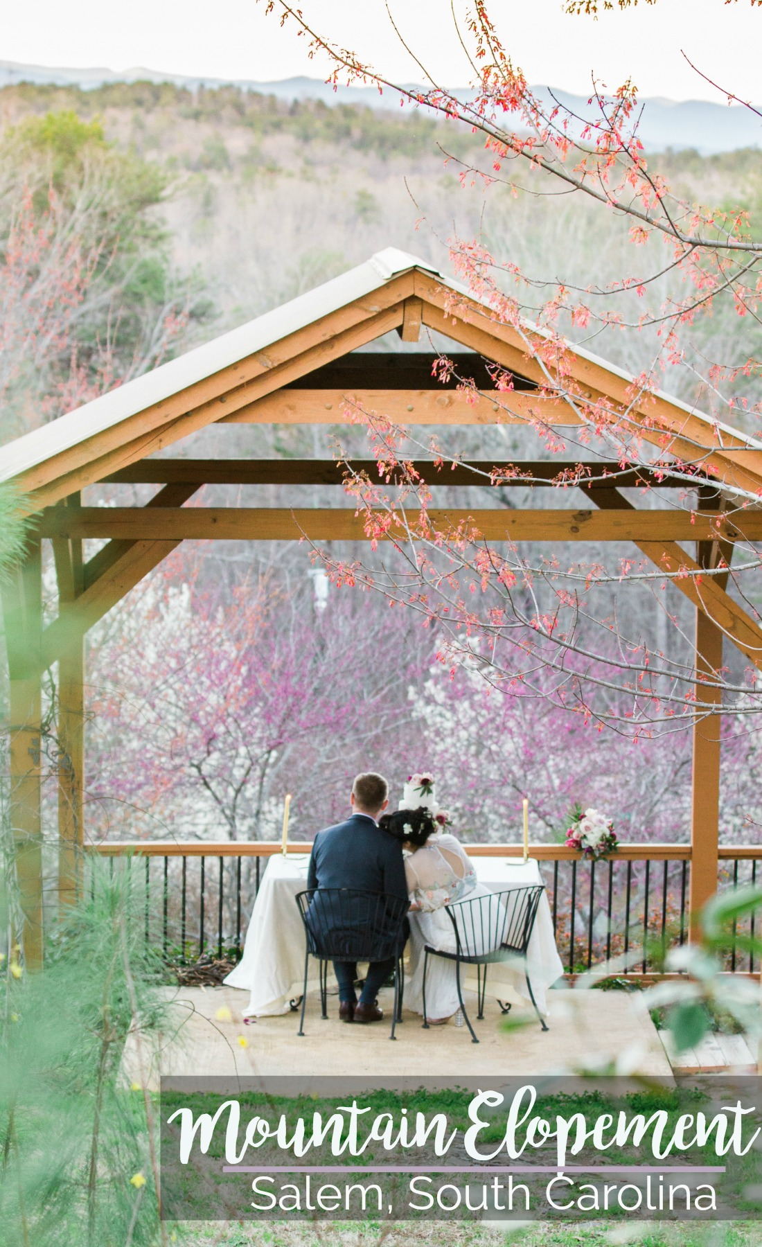 Wedding Inspiration: Mountain Elopement at Three Pines View Lodge, Salem, South Carolina | Palmetto State Weddings | Photography by Daydream Lane Photography | mountain weddings Greenville