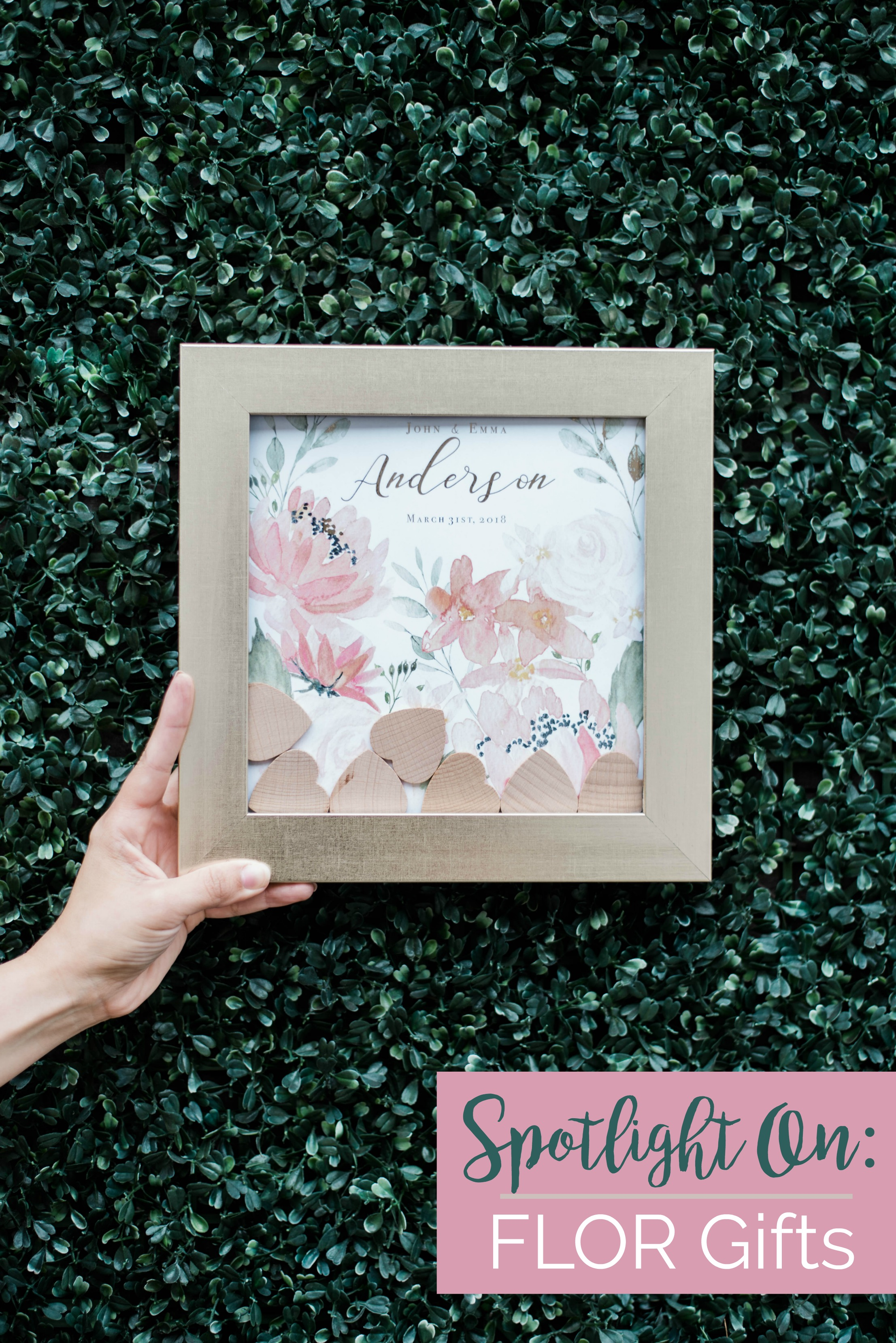 Spotlight On: FLOR Gifts | Palmetto State Weddings | Photography by Belisia Rodriguez | Charleston wedding guestbooks