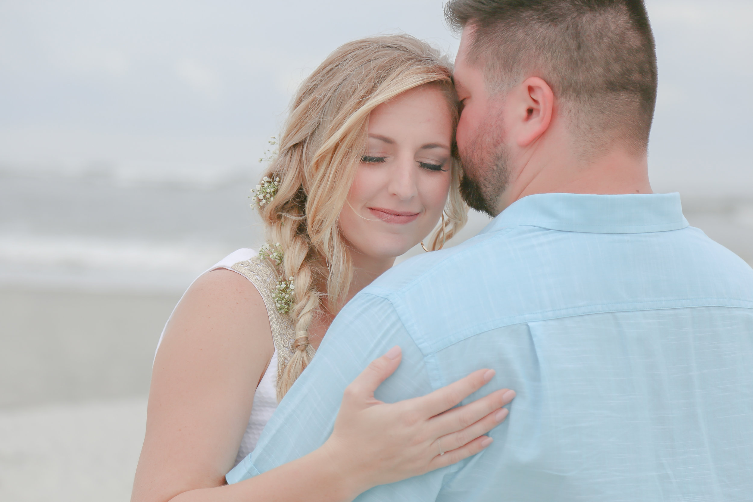 Kristin + Austin: Intimate Myrtle Beach Wedding at Cherry Grove Beach | Palmetto State Weddings