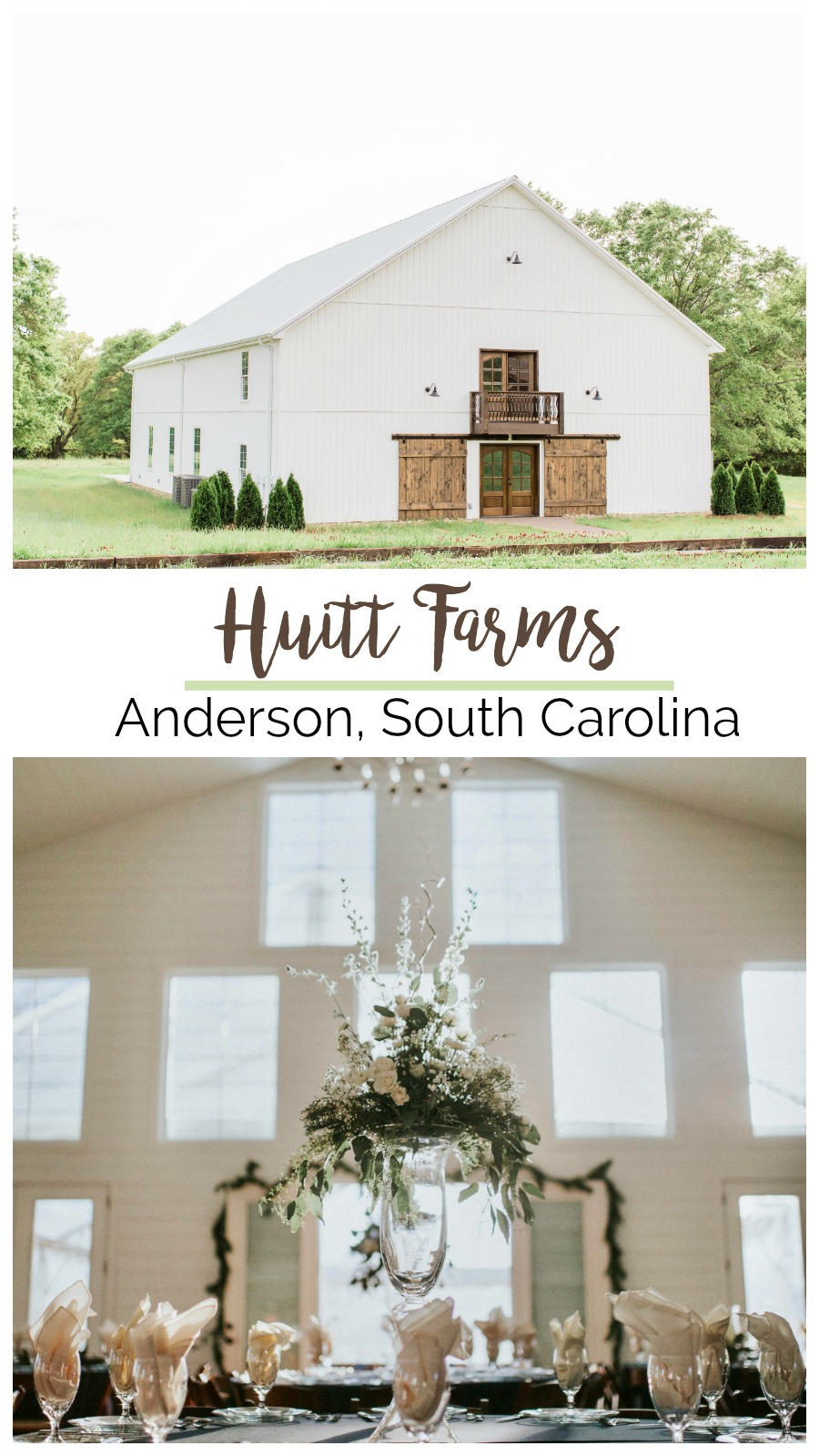 Spotlight On: Huitt Farms, Anderson, South Carolina | Palmetto State Weddings | Greenville wedding venues | barn weddings in South Carolina
