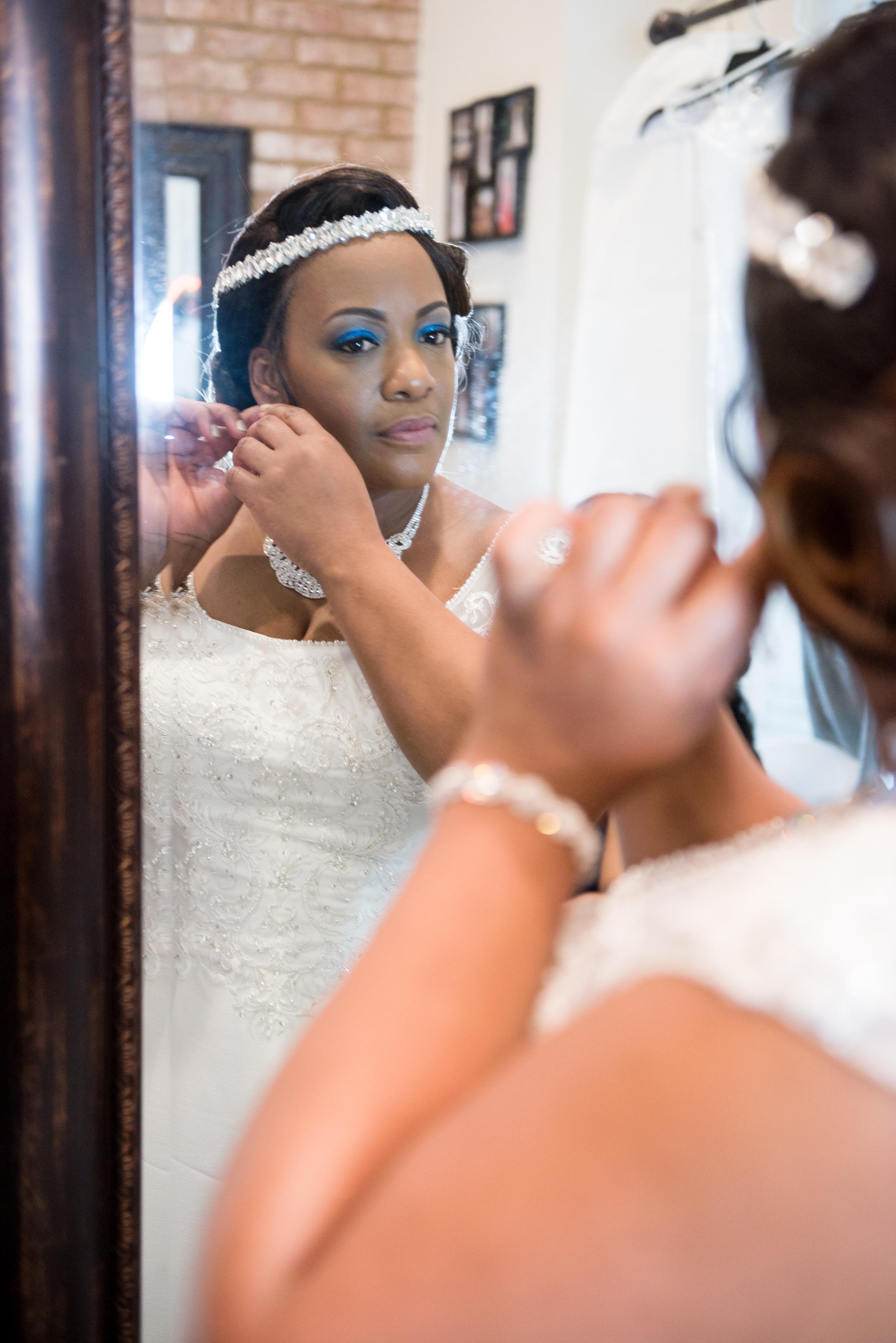 Dedra + Kelvin: Peach and Blue Lake Wedding in Blythewood | Palmetto State Weddings