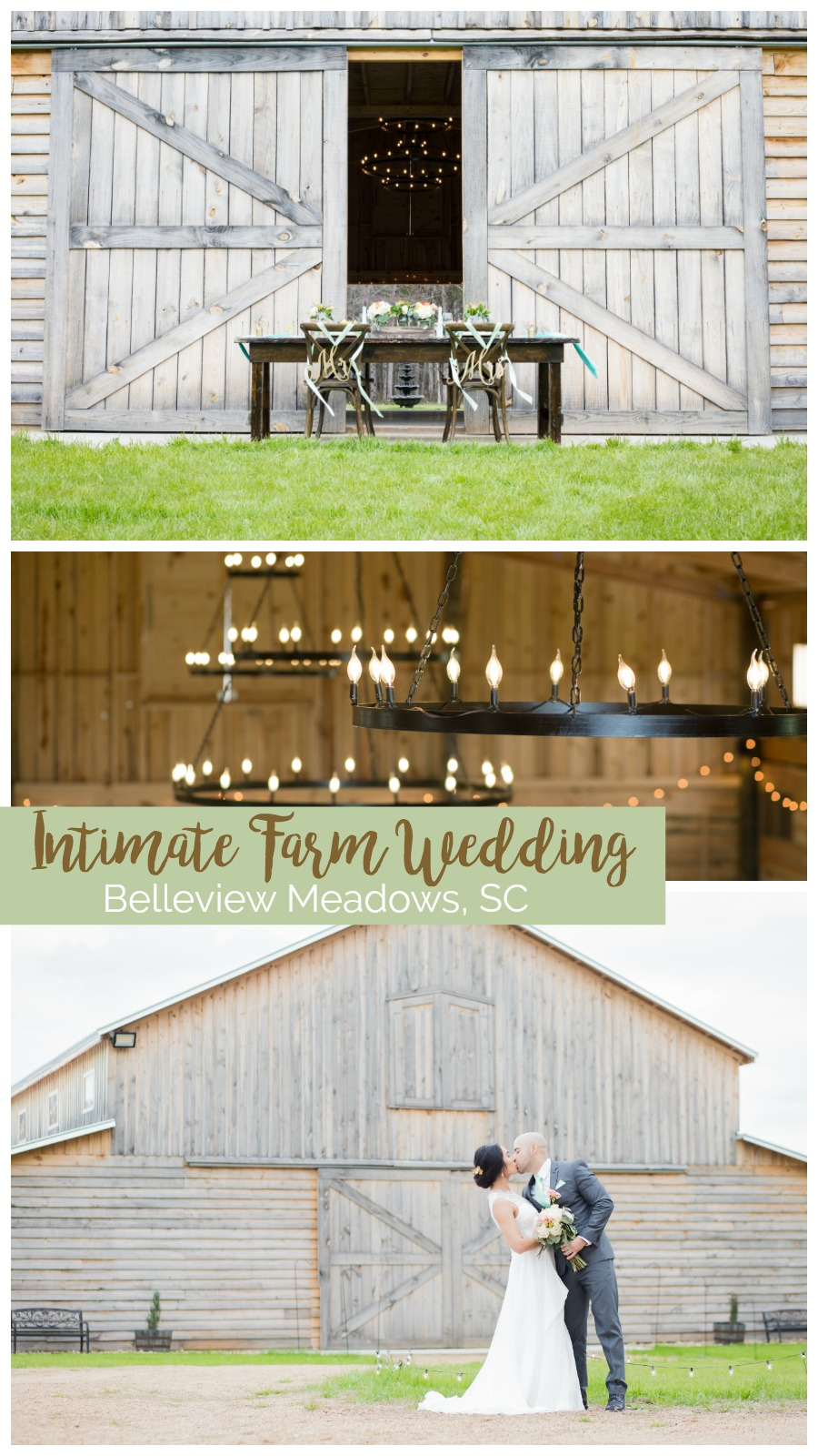 Wedding Inspiration: Intimate Farm Wedding | Palmetto State Weddings | wedding venues Greenville, South Carolina | where to get married in Greenville