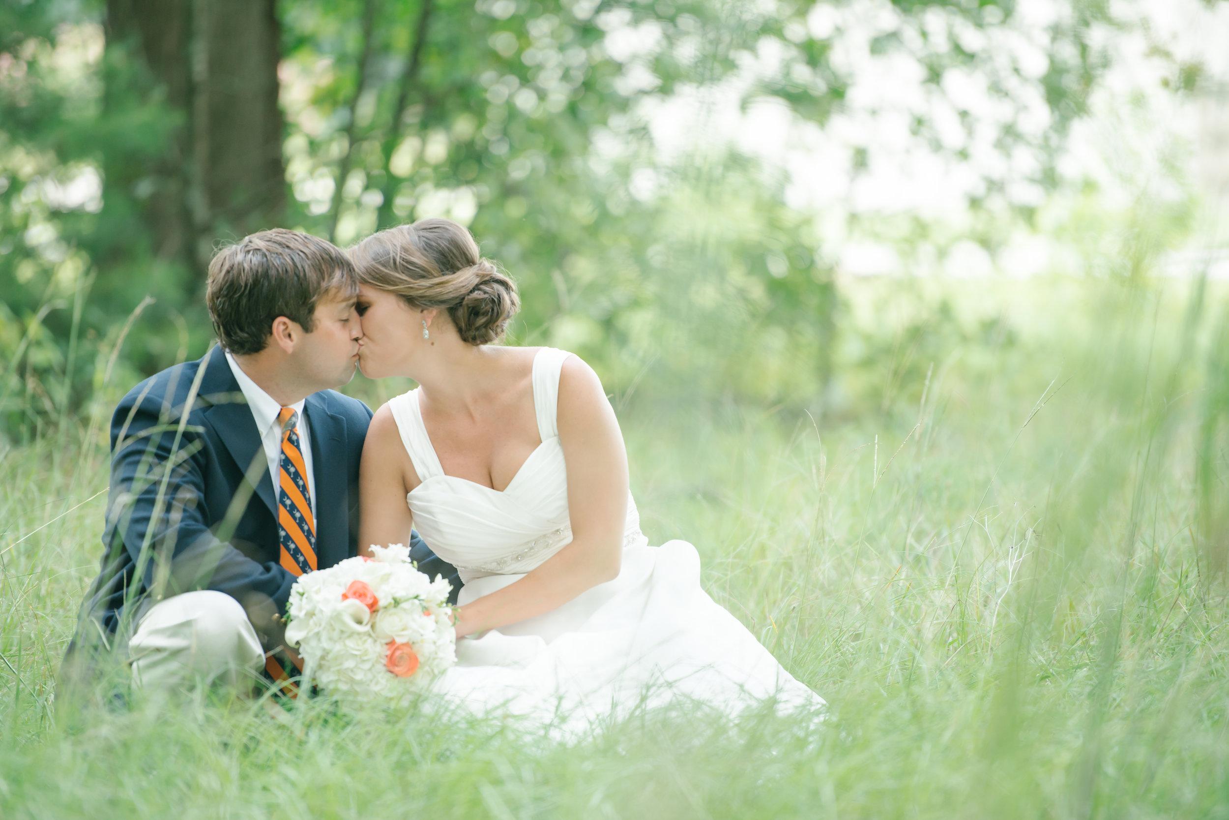 Sara + Dean: Orange and White Clemson Themed Wedding | Palmetto State Weddings