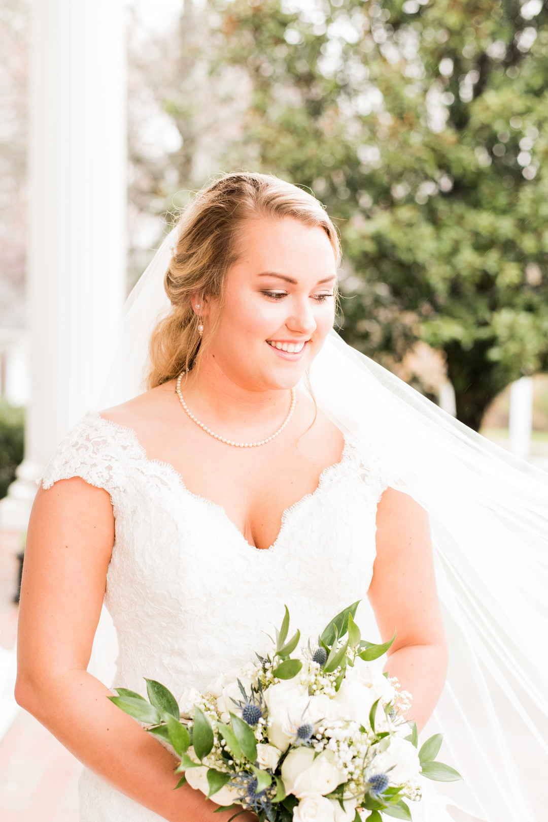 Jessica's Bridal Session at the Ryan Nicholas Inn | Palmetto State Weddings