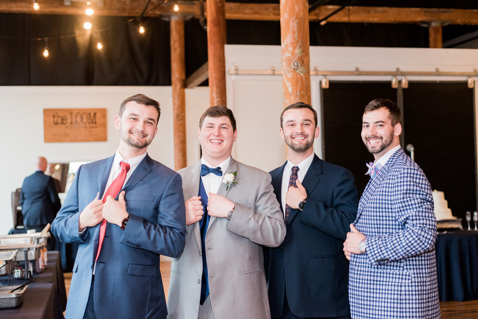 Jessica + Gavin: Modern Urban Wedding at the Loom at Cotton Mill Place   Palmetto State Weddings