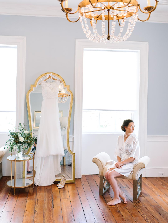 Leslie + Drew: Downtown Charleston Wedding at the Gadsden House | Palmetto State Weddings