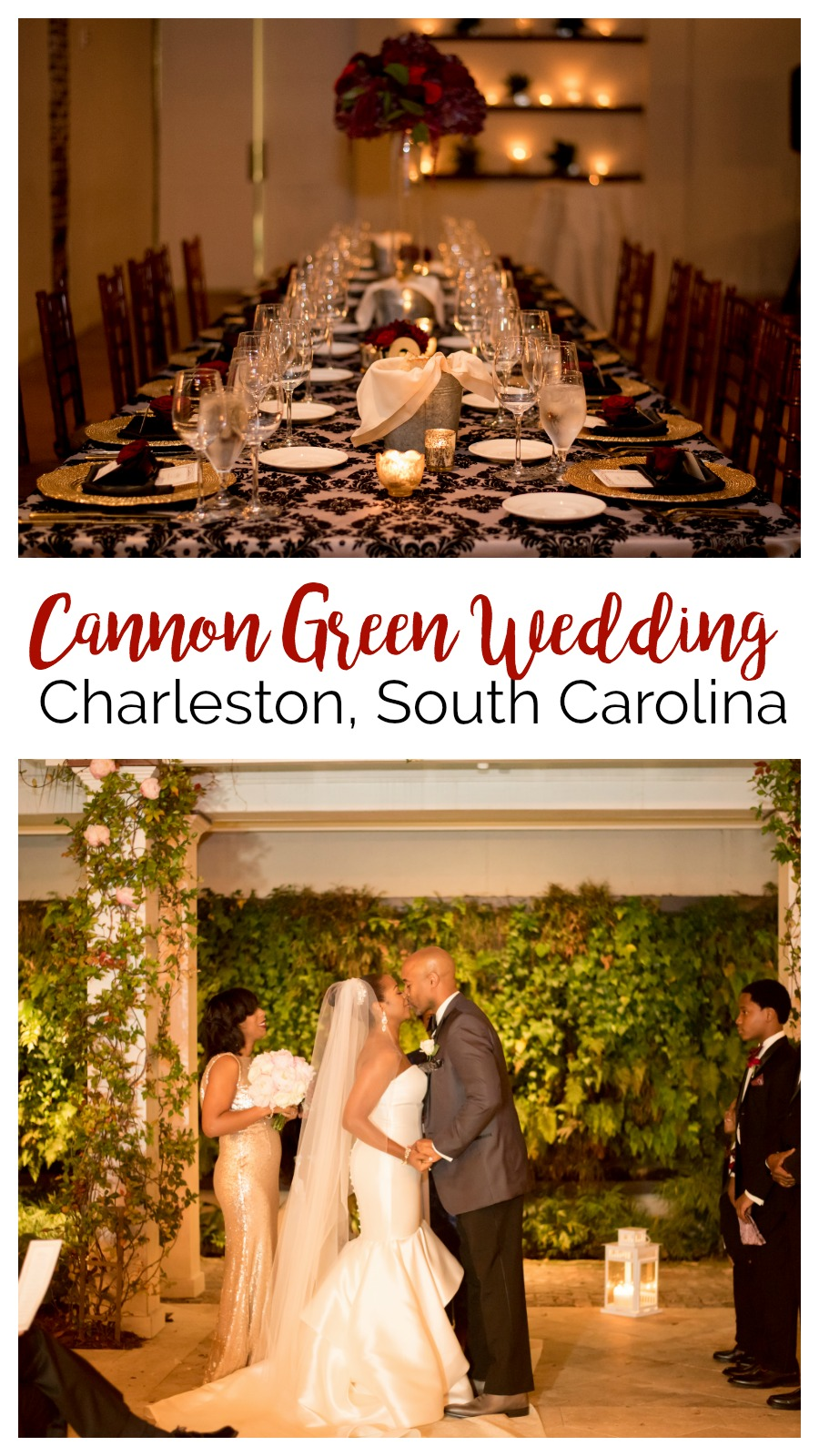 Adrienne + Kevin: Upbeat Cannon Green Wedding for a Devoted Couple | Palmetto State Weddings | Denise Benson Photography | Charleston, South Carolina, weddings