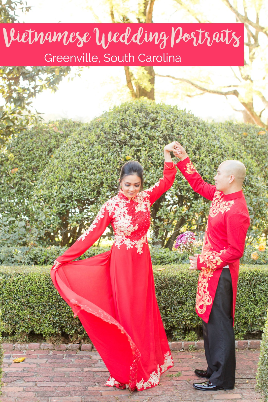 Linh and Andy: Traditional Vietnamese Wedding Portraits | Palmetto State Weddings | Christa Rene Photography
