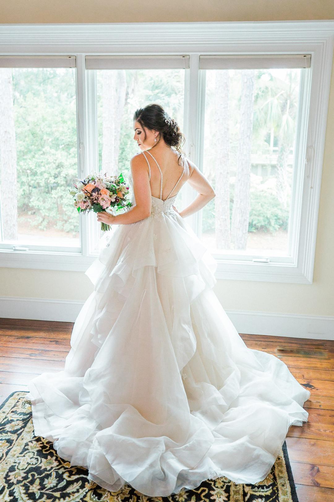 Kate + Matt: Pink and Purple Wedding in Hilton Head Island | Palmetto State Weddings