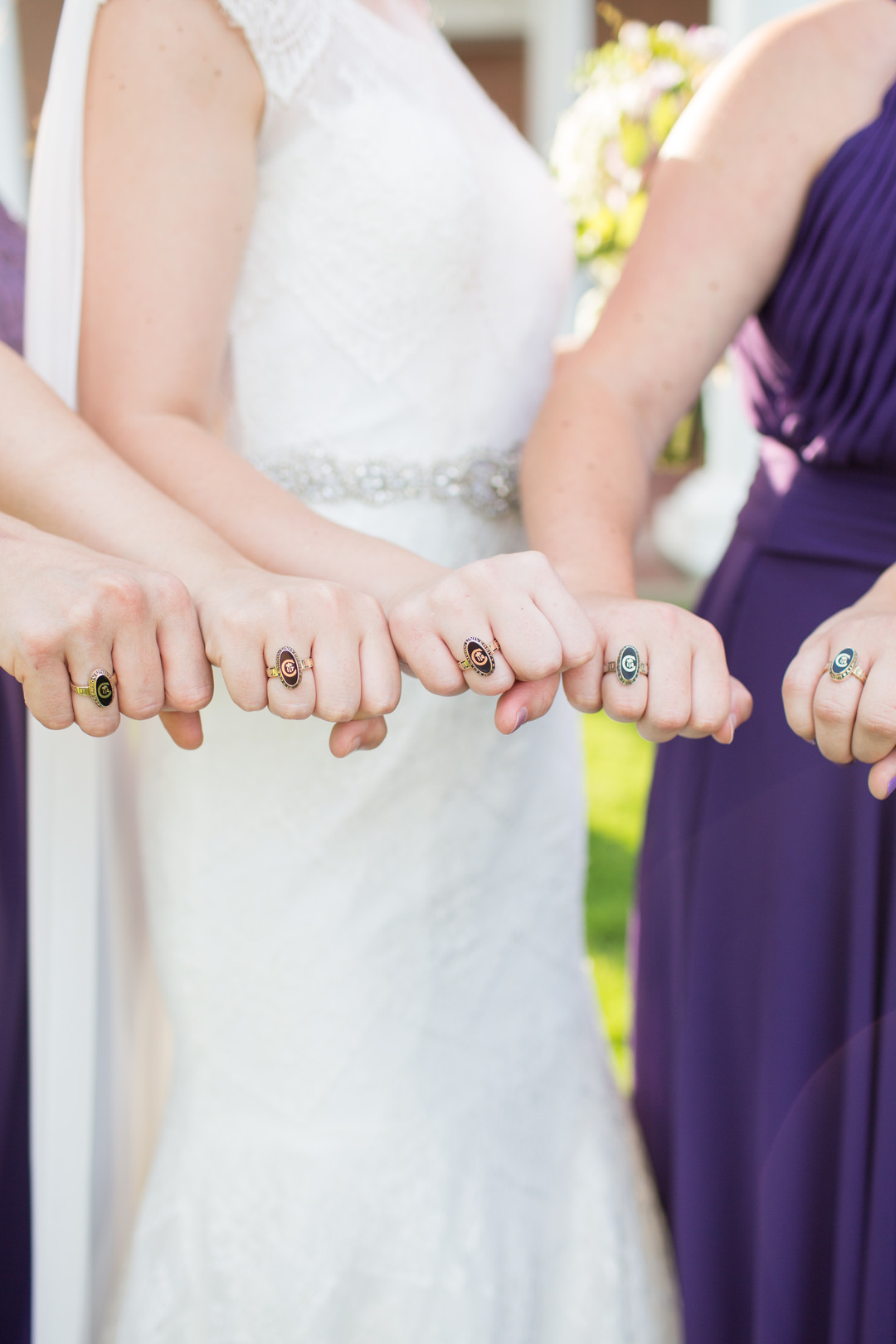 Dani + Sam: Purple-Inspired Country Club Wedding in Greenville | Palmetto State Weddings