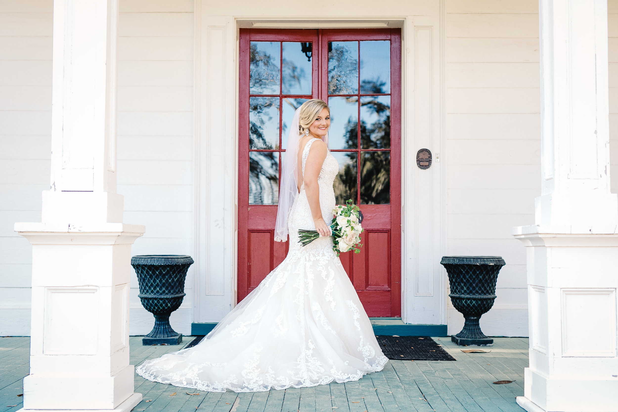 Cameron's Bridal Portrait Session at Sunnyside Plantation | Palmetto State Weddings