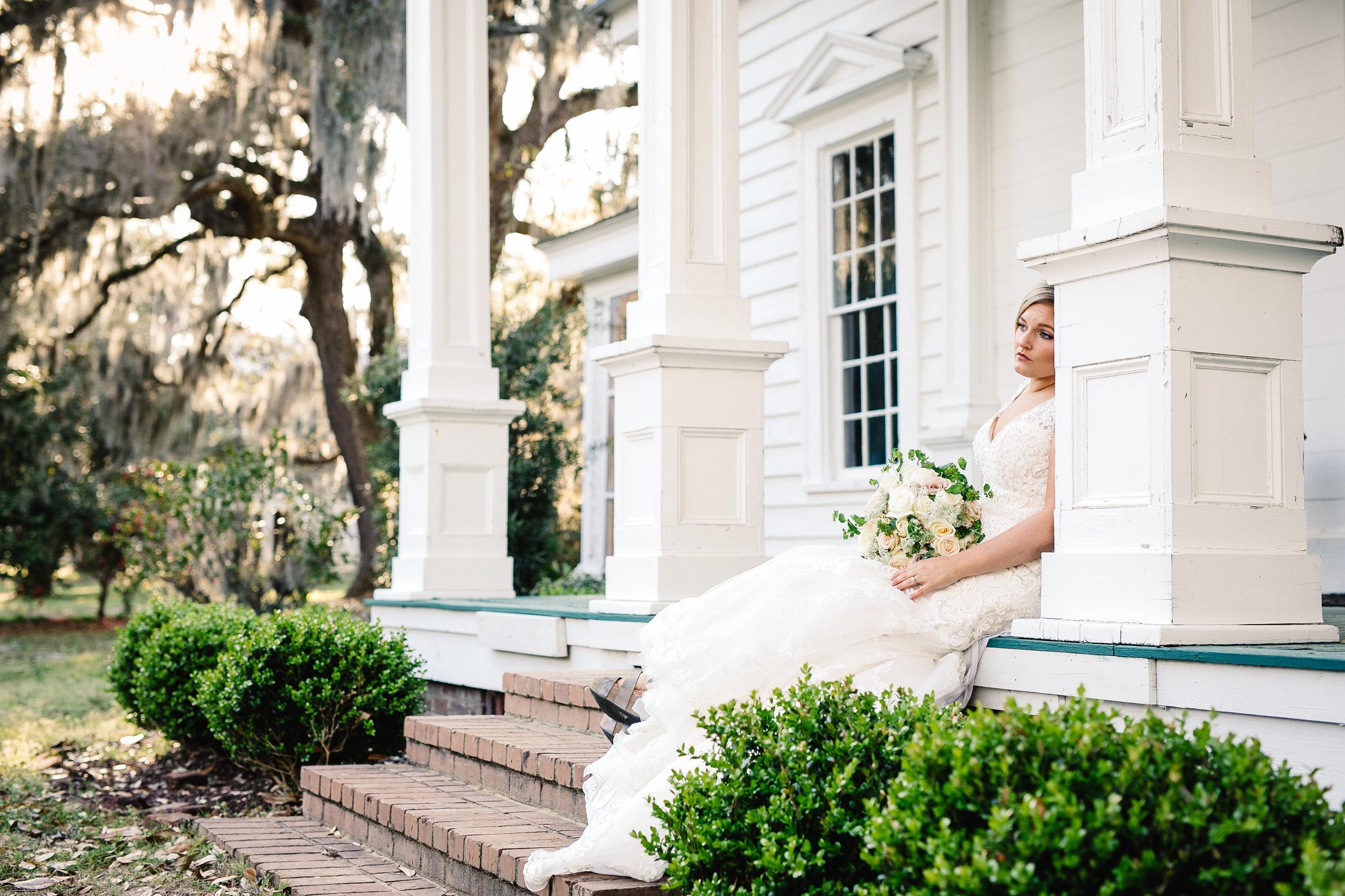 Cameron's Bridal Portrait Session at Sunnyside Plantation | Palmetto State Weddings
